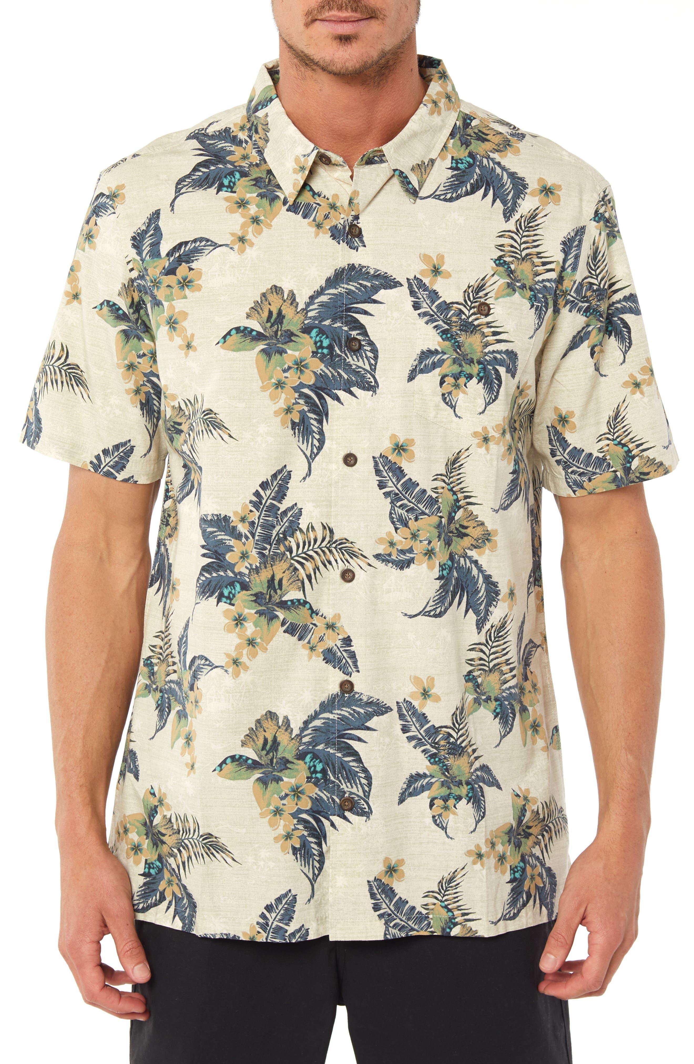Coastline Regular Fit Sport Shirt,                         Main,                         color, STONE