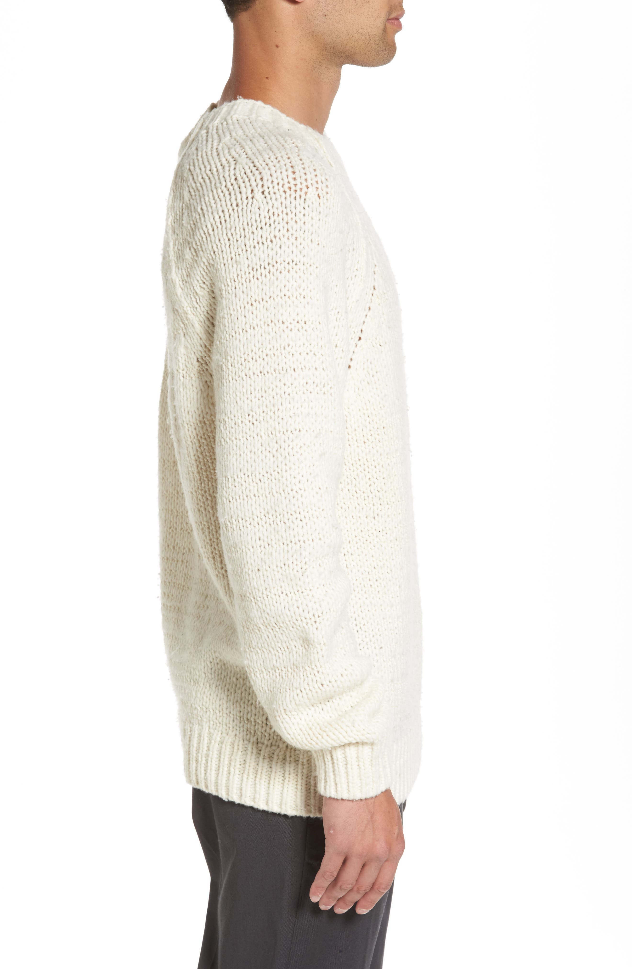 Raglan Sweater,                             Alternate thumbnail 6, color,