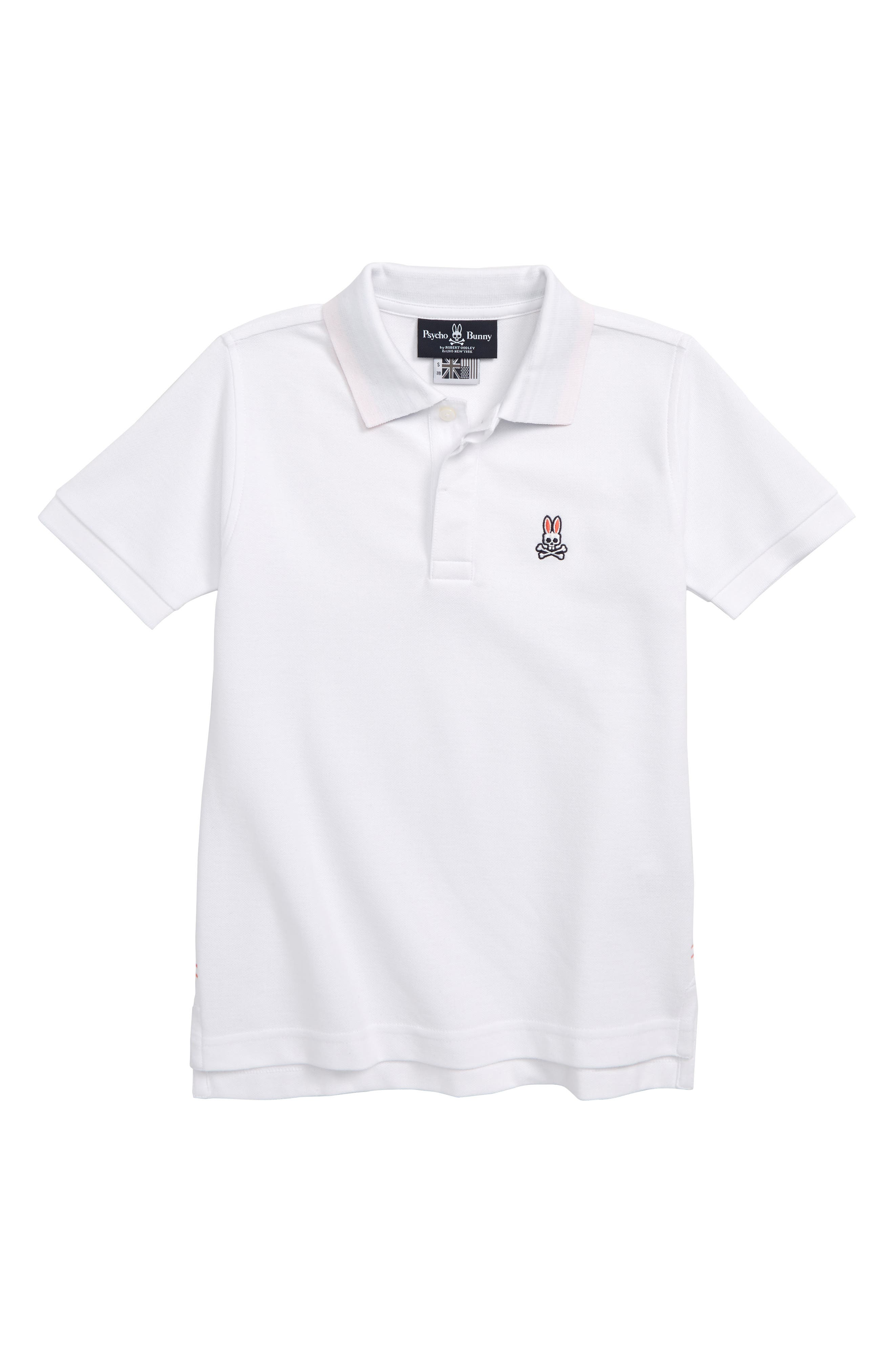 Porthill Polo Shirt,                             Main thumbnail 1, color,                             WHITE