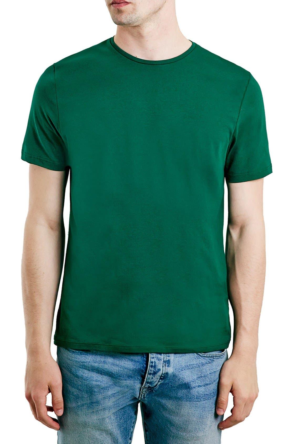 Slim Fit Crewneck T-Shirt,                             Main thumbnail 50, color,