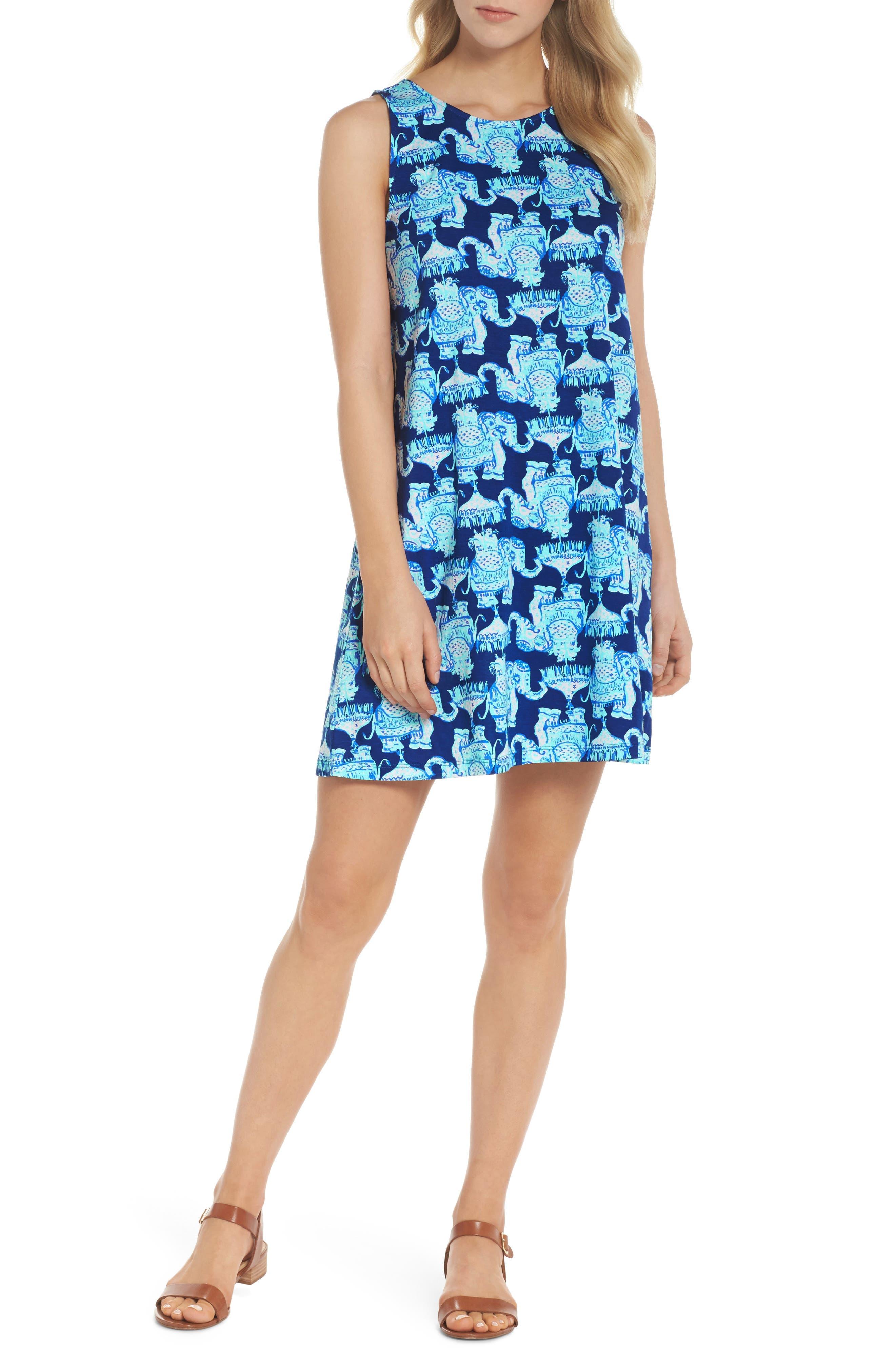 Kristen Shift Dress,                         Main,                         color, 400
