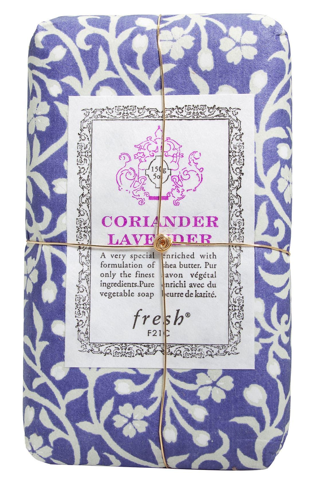 Coriander Lavender Petit Soap,                             Main thumbnail 1, color,                             000