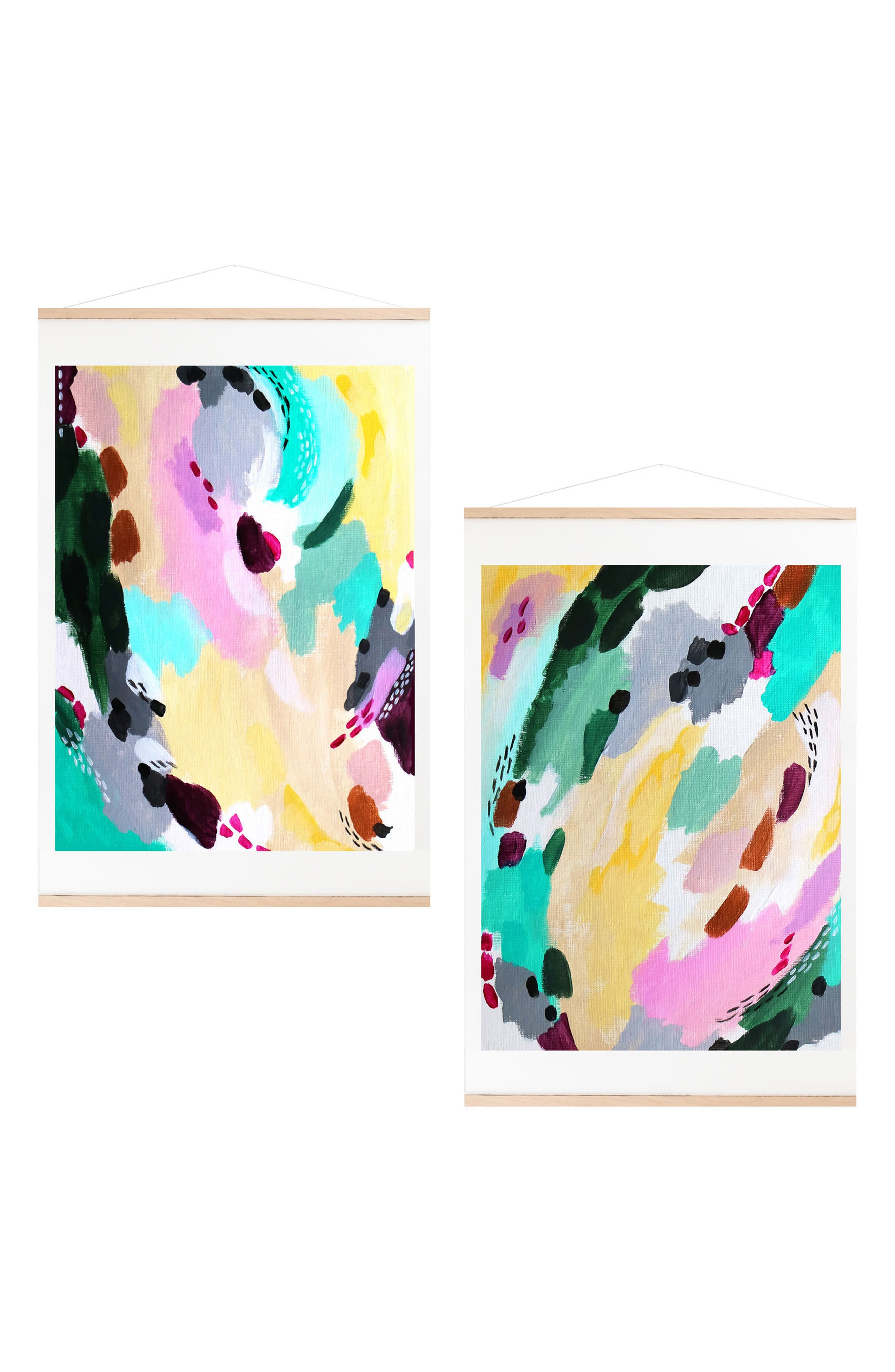 Brisk Winds Set of 2 Art Prints,                             Main thumbnail 1, color,