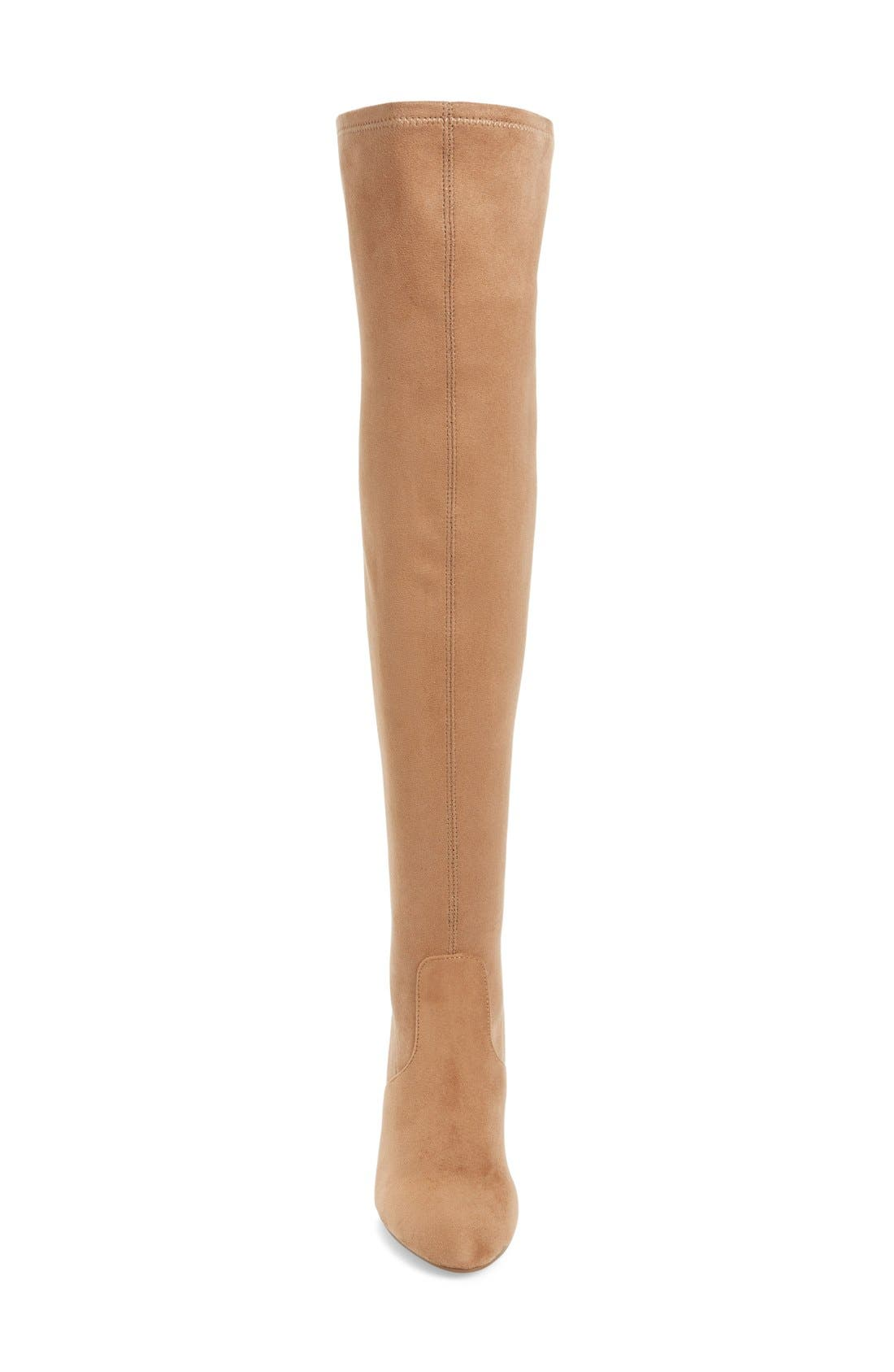 'Emotions' Stretch Over the Knee Boot,                             Alternate thumbnail 6, color,