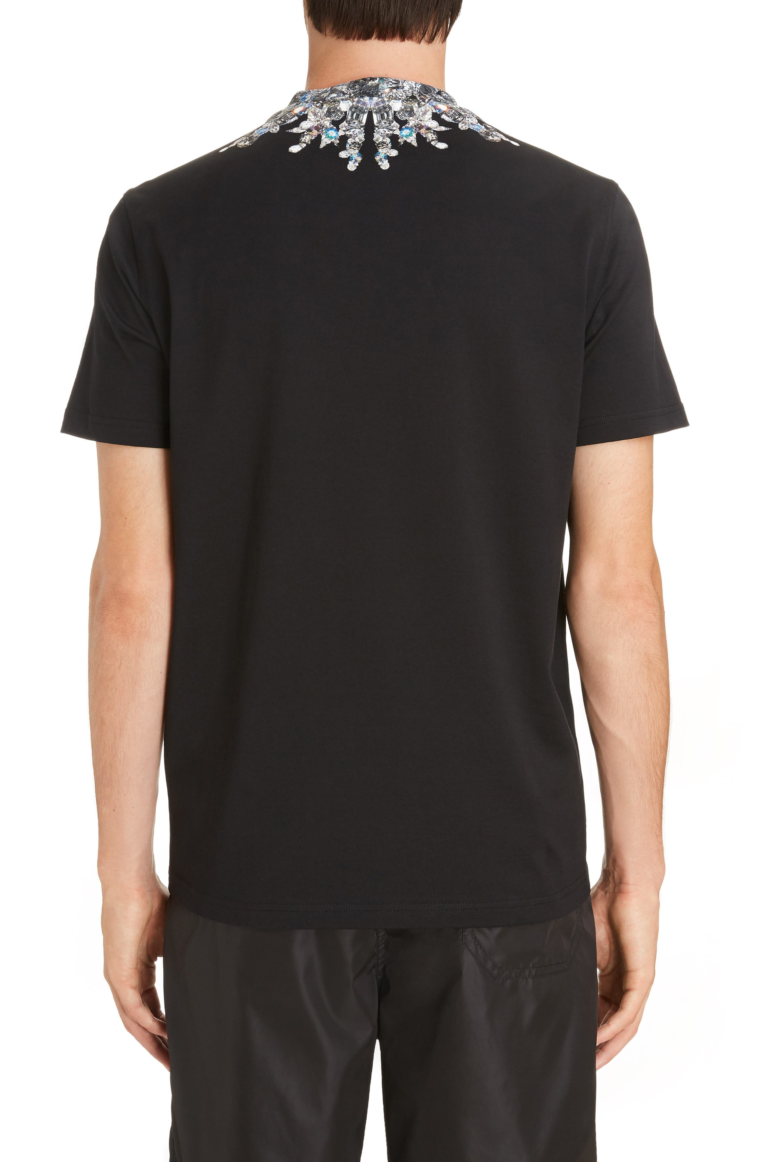 Jewel Print Crewneck T-Shirt,                             Alternate thumbnail 2, color,