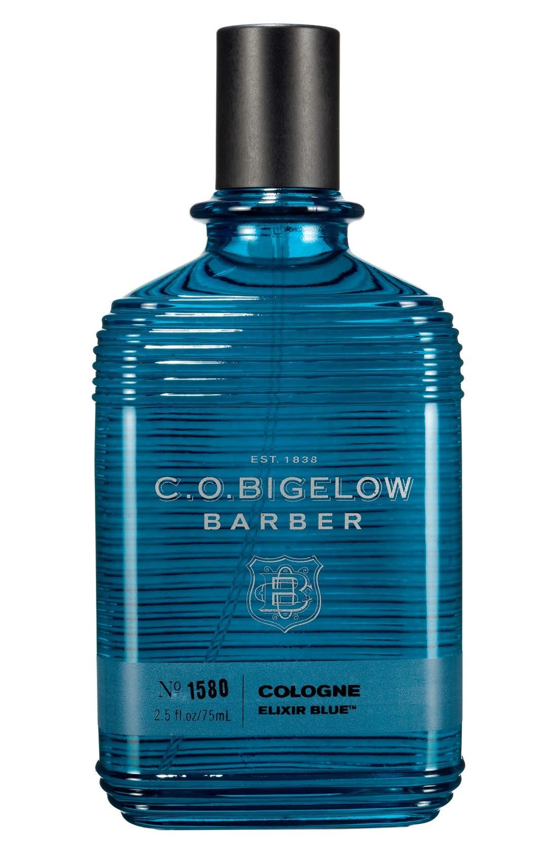'Barber - Elixir Blue' Cologne,                             Main thumbnail 1, color,                             BLUE