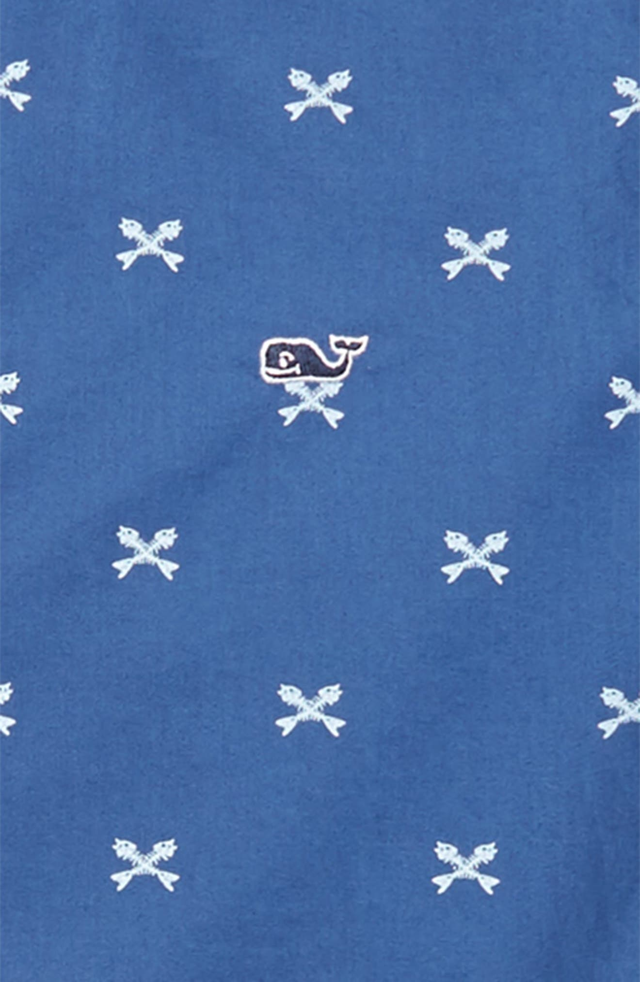 Crossed Fish Bone Woven Shirt,                             Alternate thumbnail 2, color,                             461