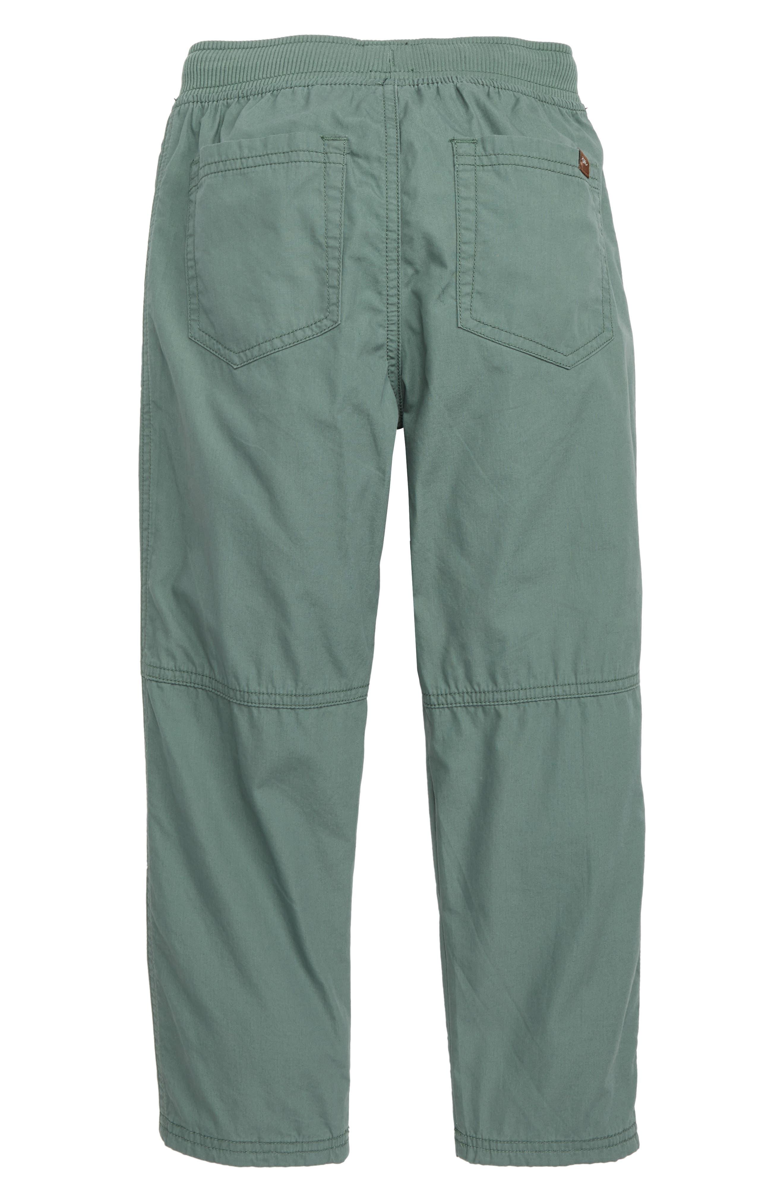 Lined Pants,                             Alternate thumbnail 2, color,                             FOLIAGE