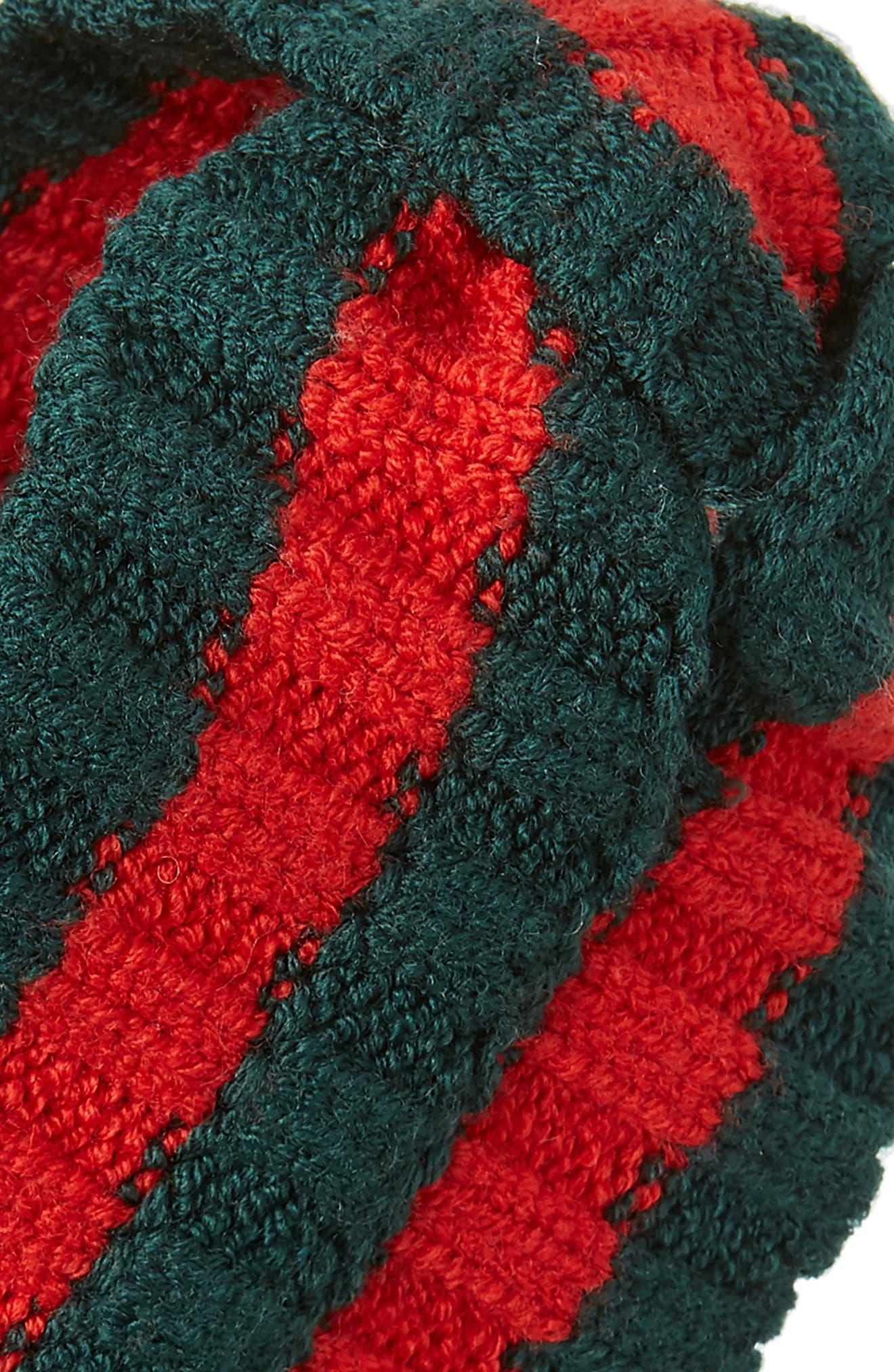 Stripe Knit Head Wrap,                             Alternate thumbnail 2, color,                             300