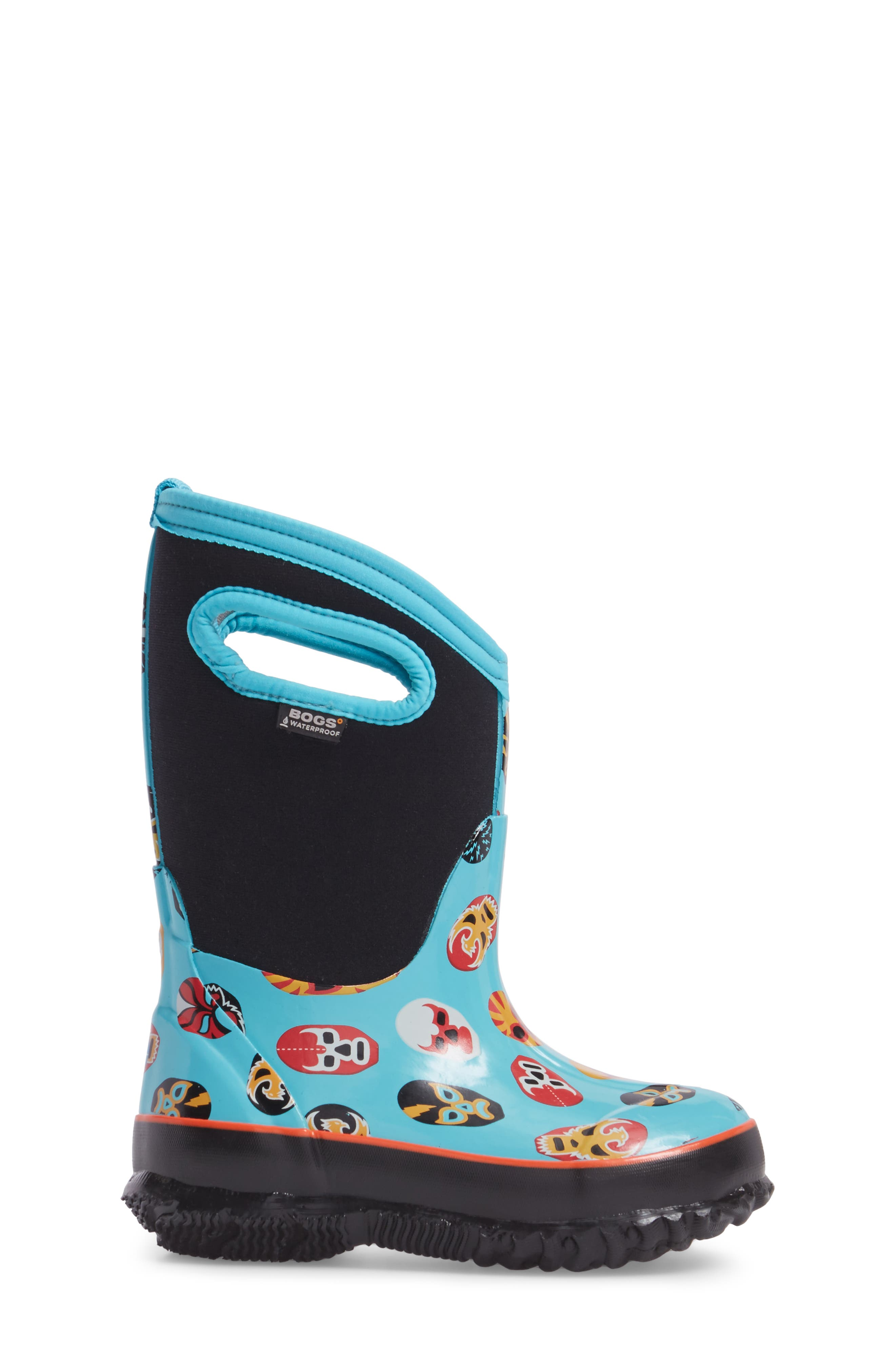 Classic Mask Insulated Waterproof Boot,                             Alternate thumbnail 3, color,                             409