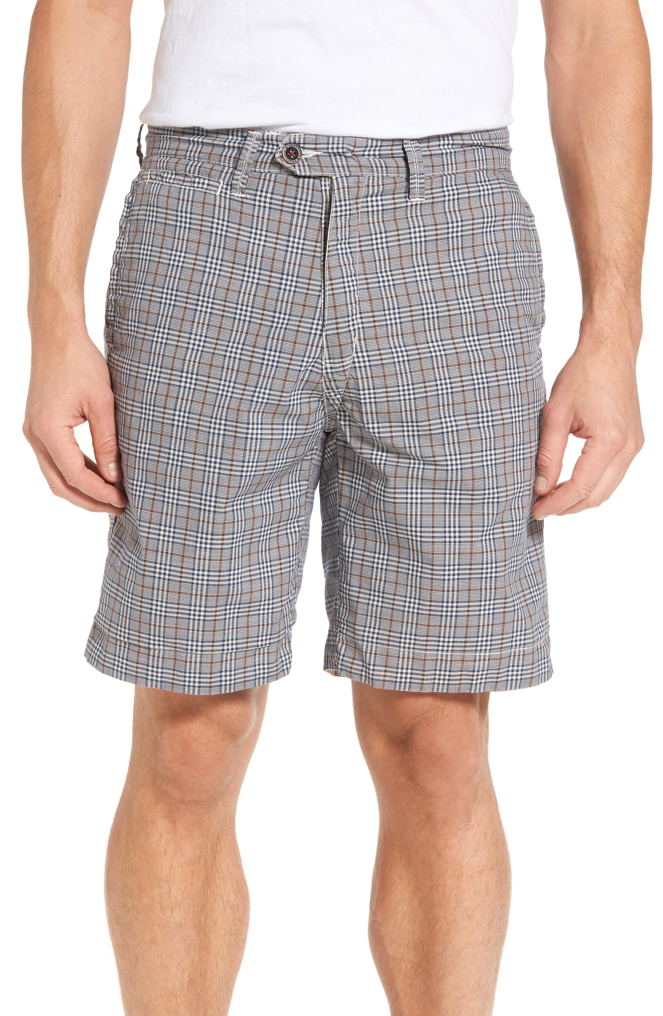Darlington Reversible Flat Front Shorts,                             Alternate thumbnail 4, color,                             290