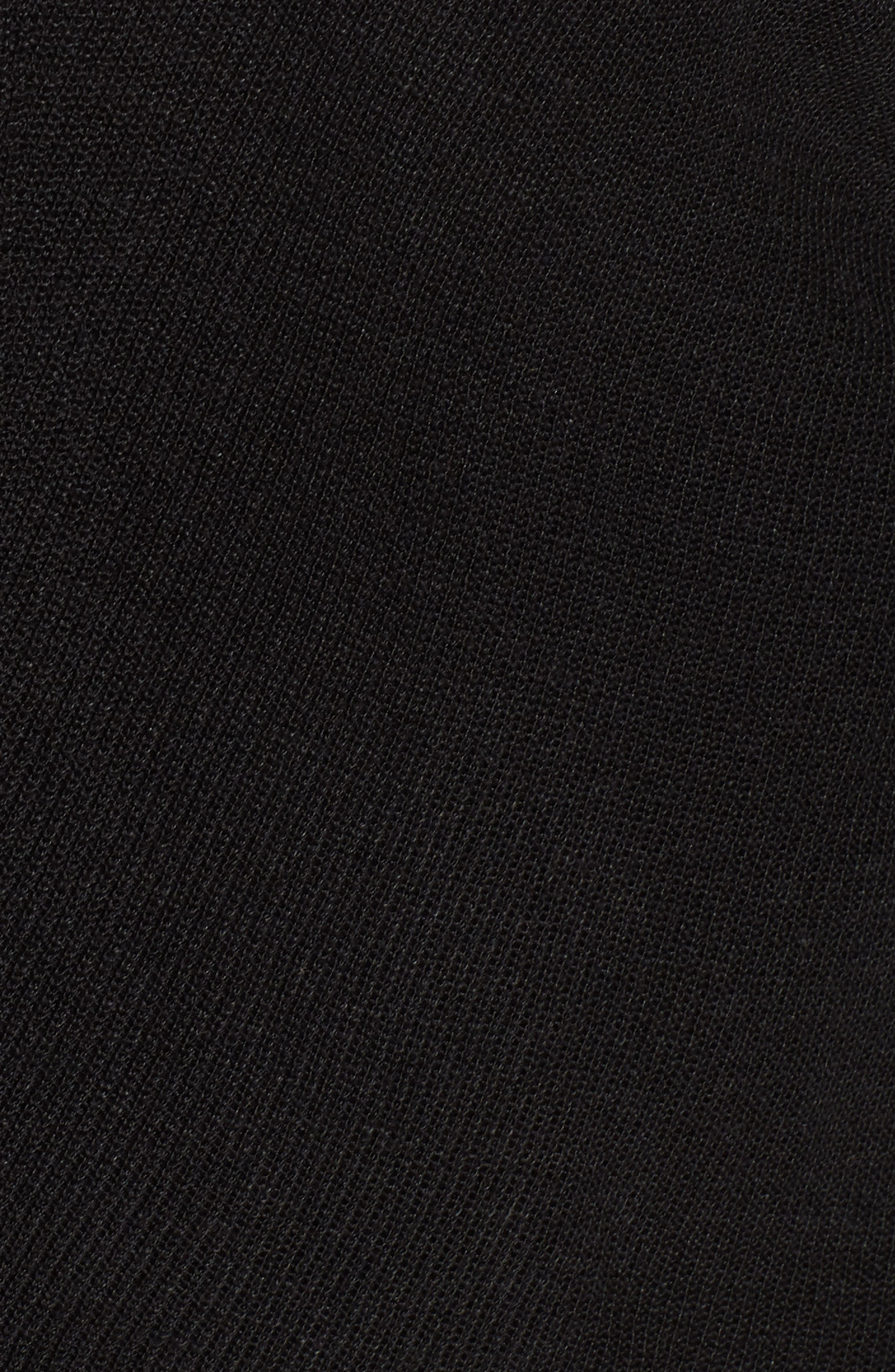 Boxy Organic Linen Blend Sweater,                             Alternate thumbnail 5, color,                             001