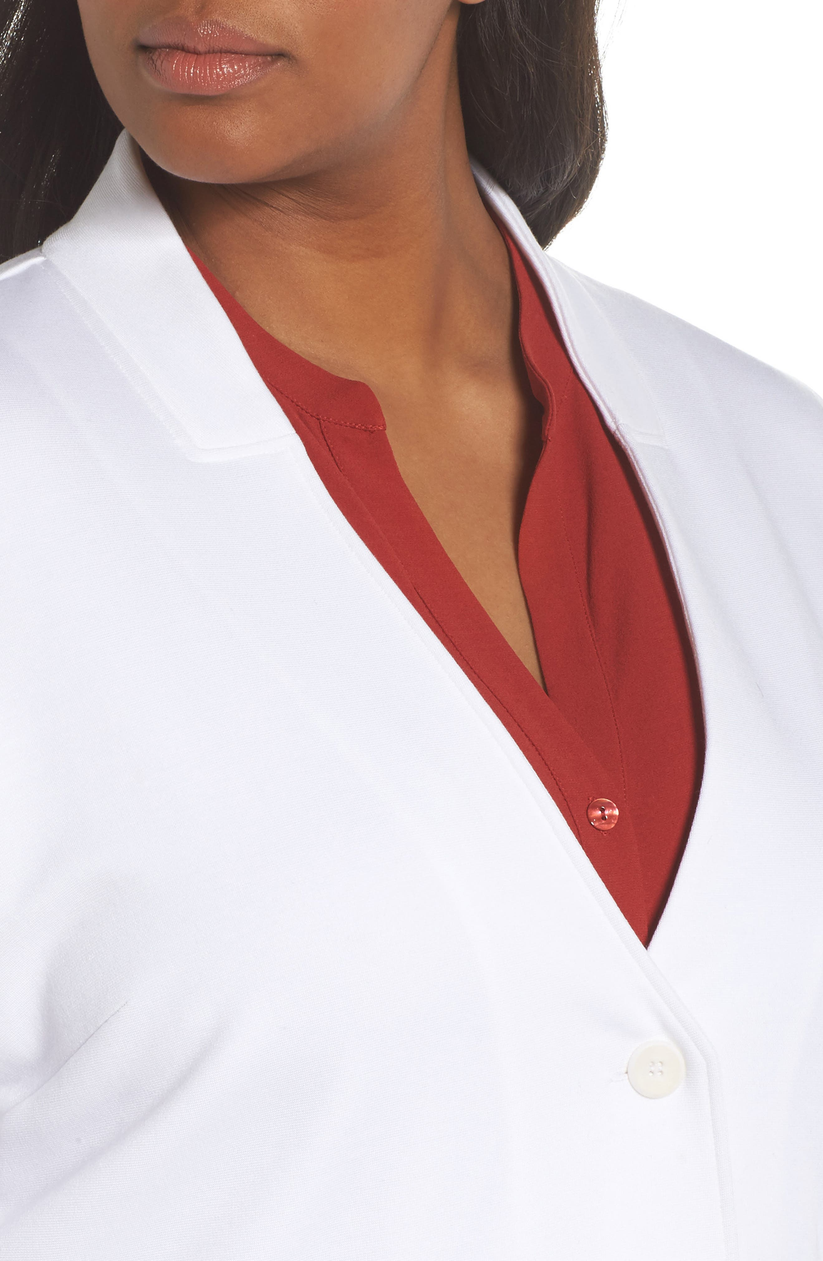Stand Collar Blazer,                             Alternate thumbnail 8, color,