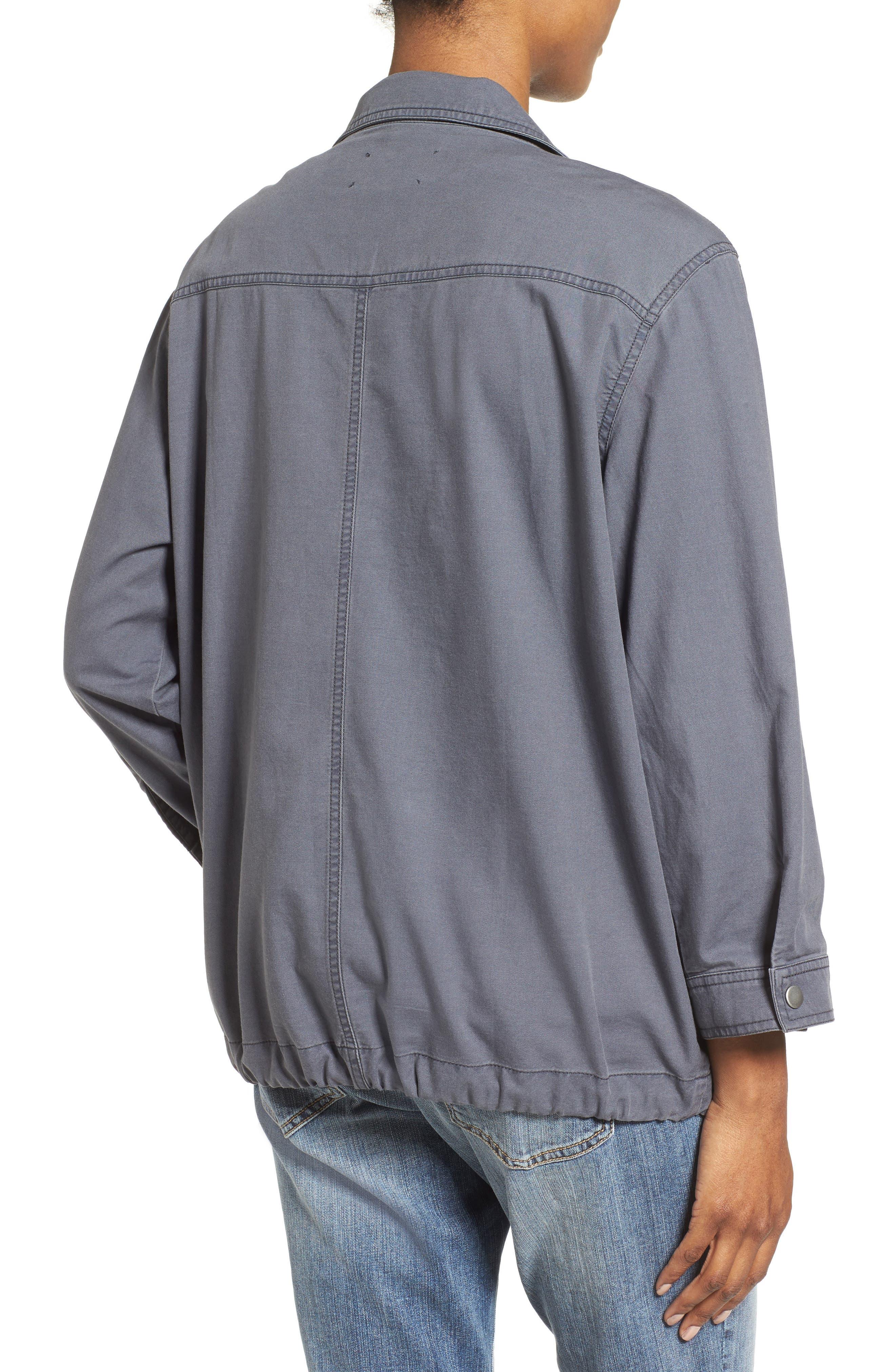 Roll Sleeve Utility Jacket,                             Alternate thumbnail 2, color,                             030