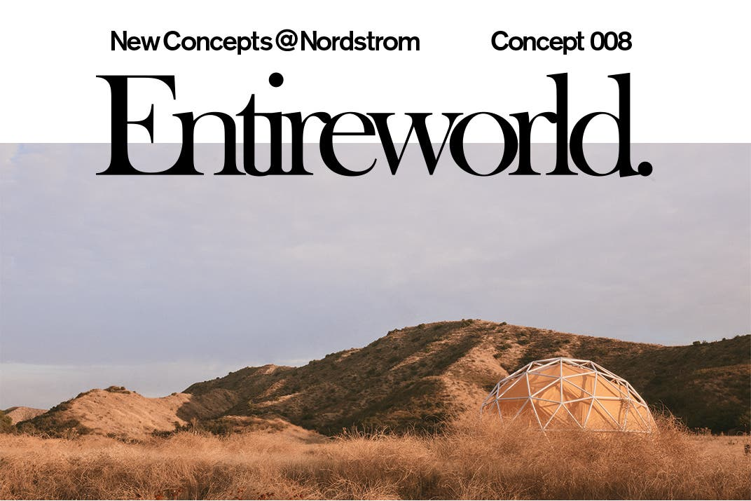 Entireworld clothing for men and women.