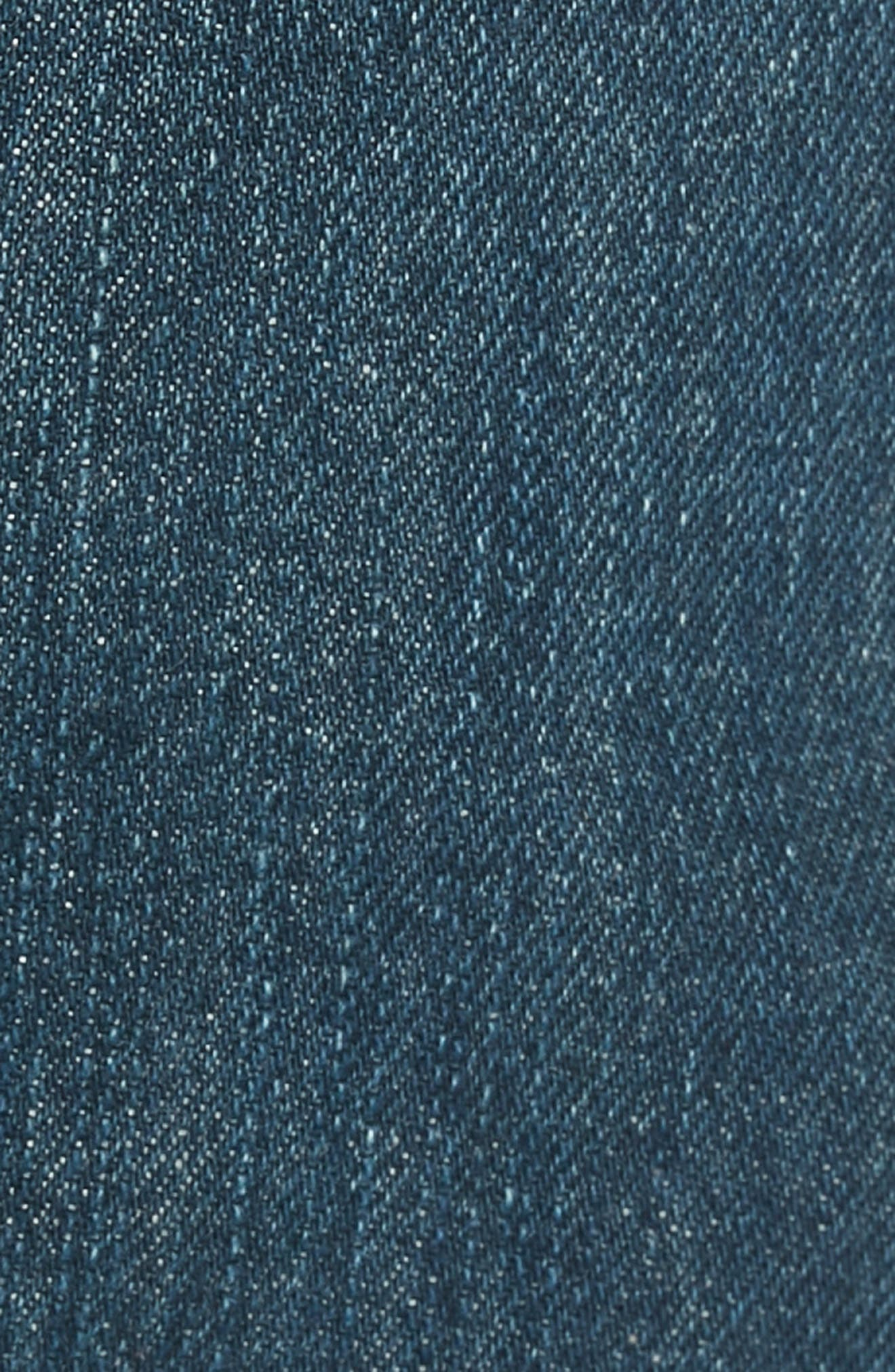 501<sup>®</sup> Straight Leg Jeans,                             Alternate thumbnail 5, color,                             SNOOT