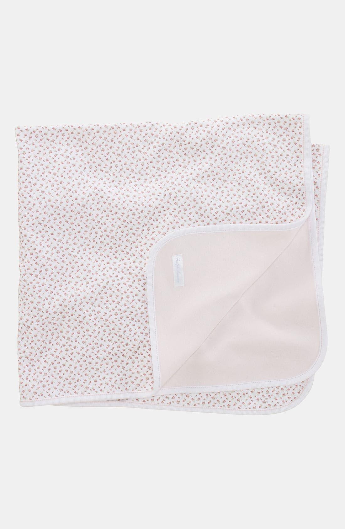 Reversible Receiving Blanket,                             Main thumbnail 1, color,                             100