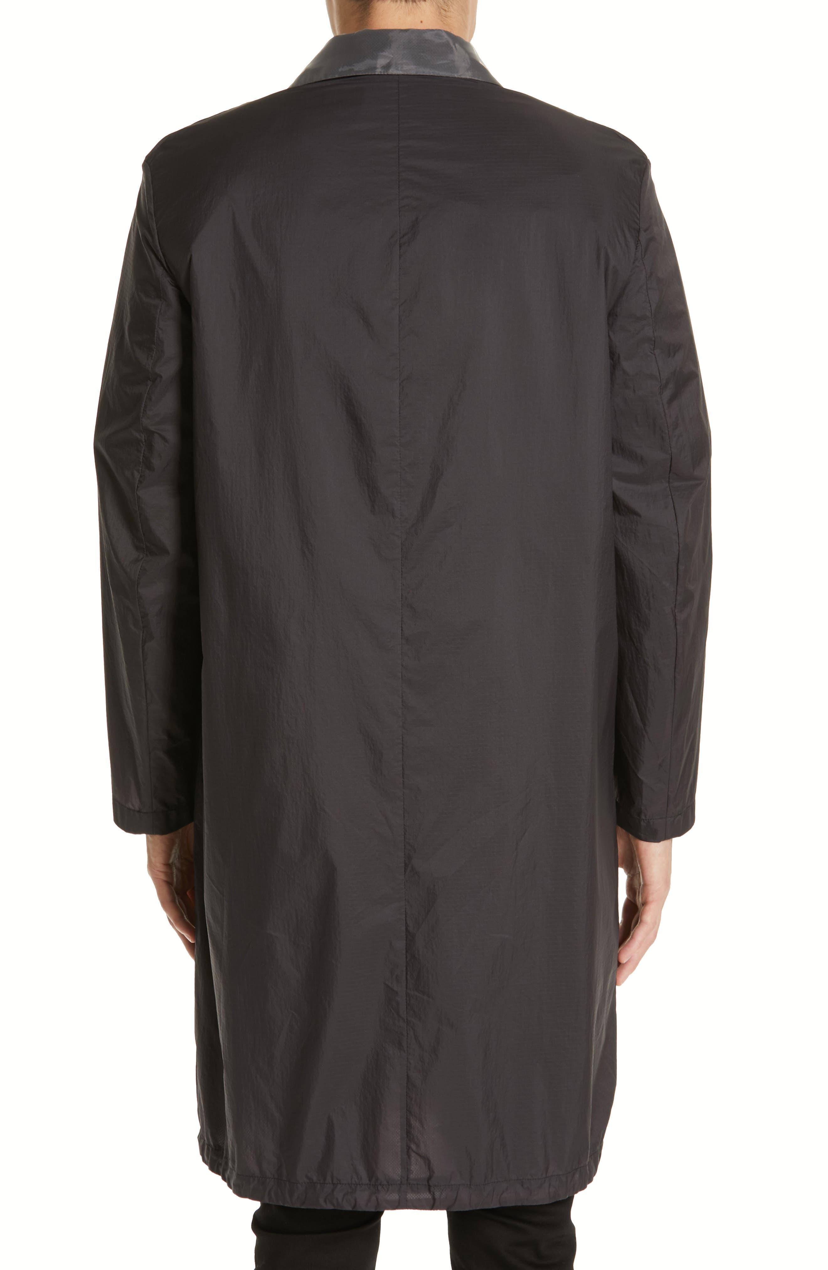 Sagan Long Jacket,                             Alternate thumbnail 2, color,                             BLACK