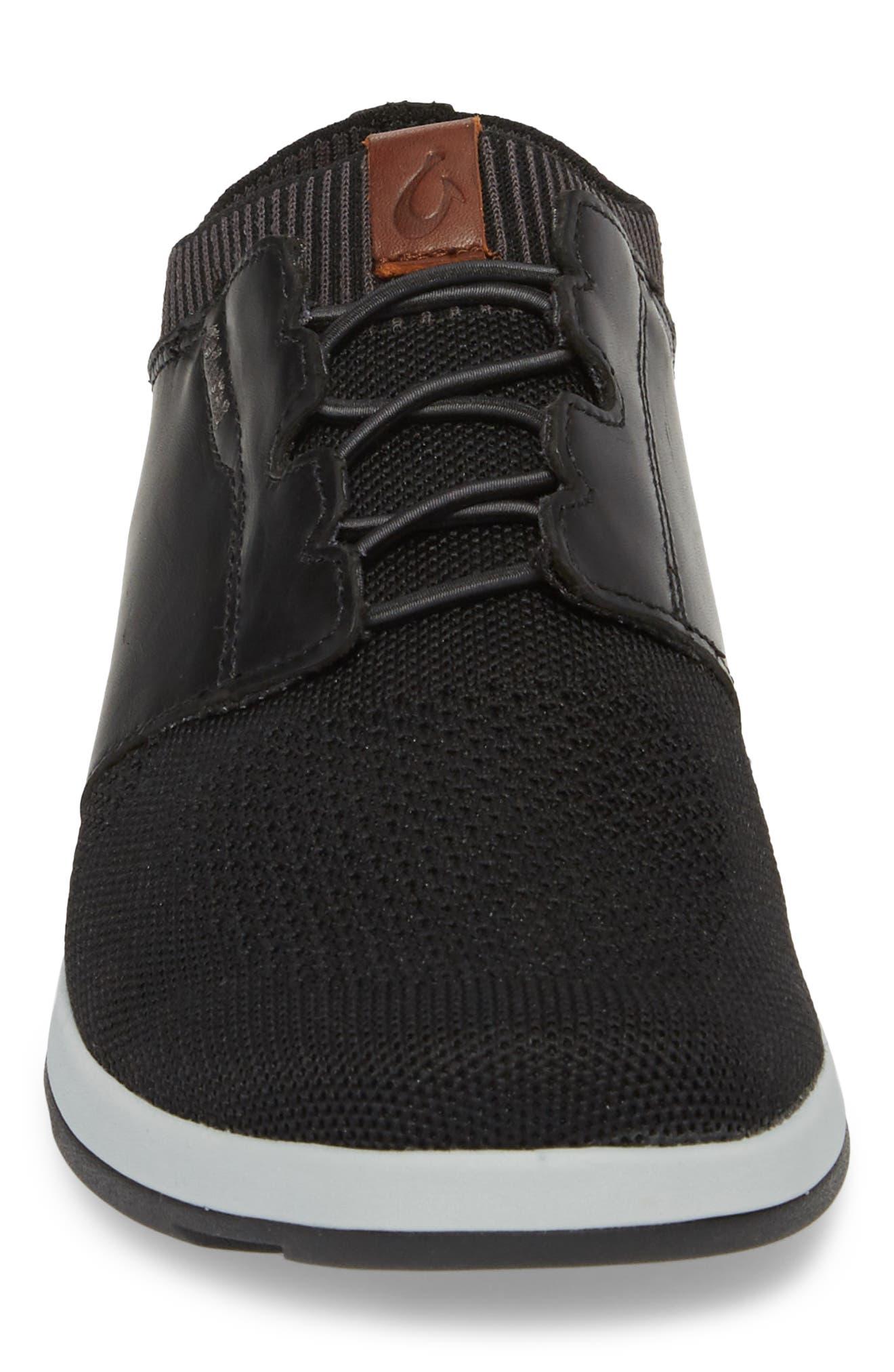 Makia Ulana Sneaker,                             Alternate thumbnail 4, color,                             BLACK/ BLACK