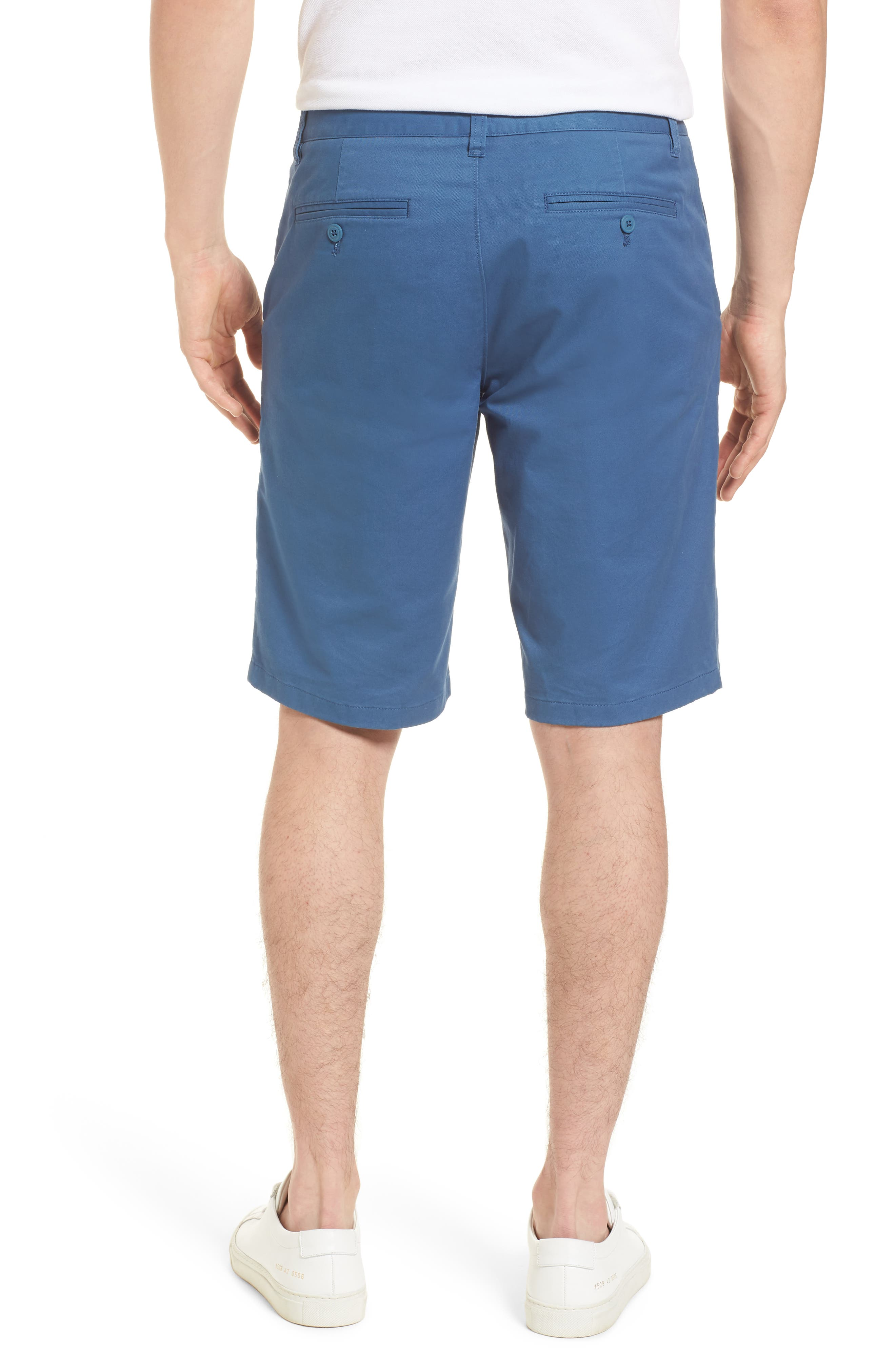 Stretch Washed Chino 11-Inch Shorts,                             Alternate thumbnail 16, color,