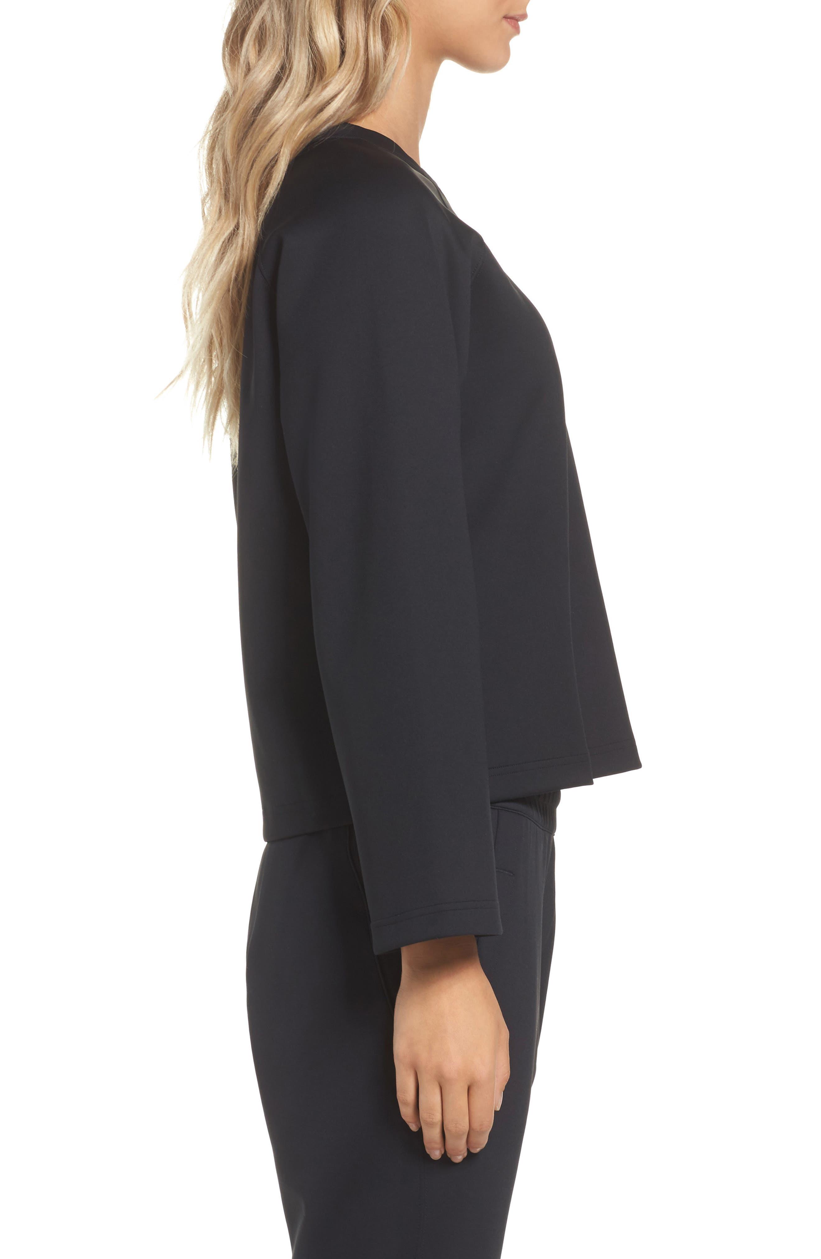 NikeLab Essentials Women's Fleece Top,                             Alternate thumbnail 6, color,
