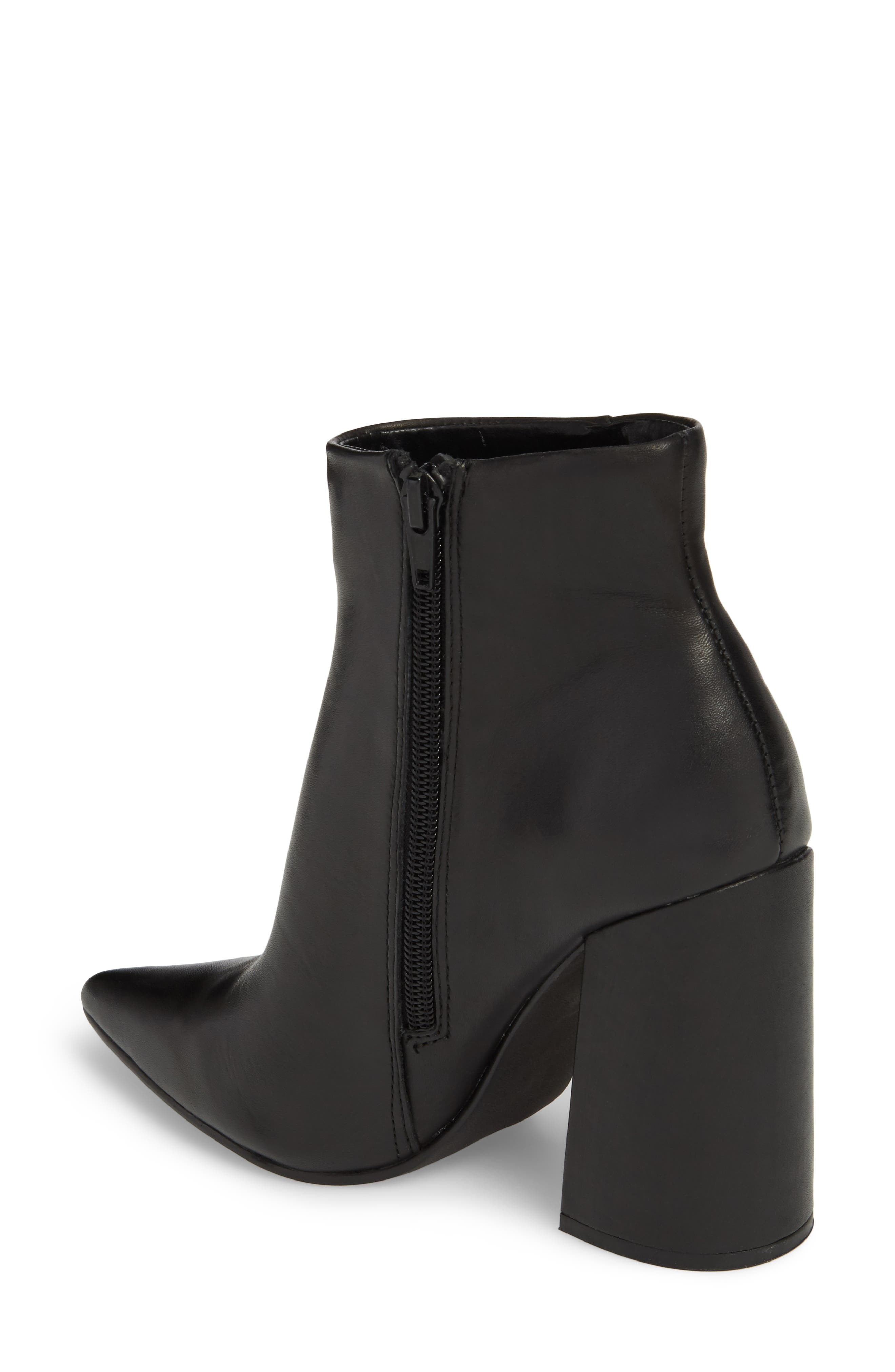 Justify Flared Heel Bootie,                             Alternate thumbnail 2, color,                             001