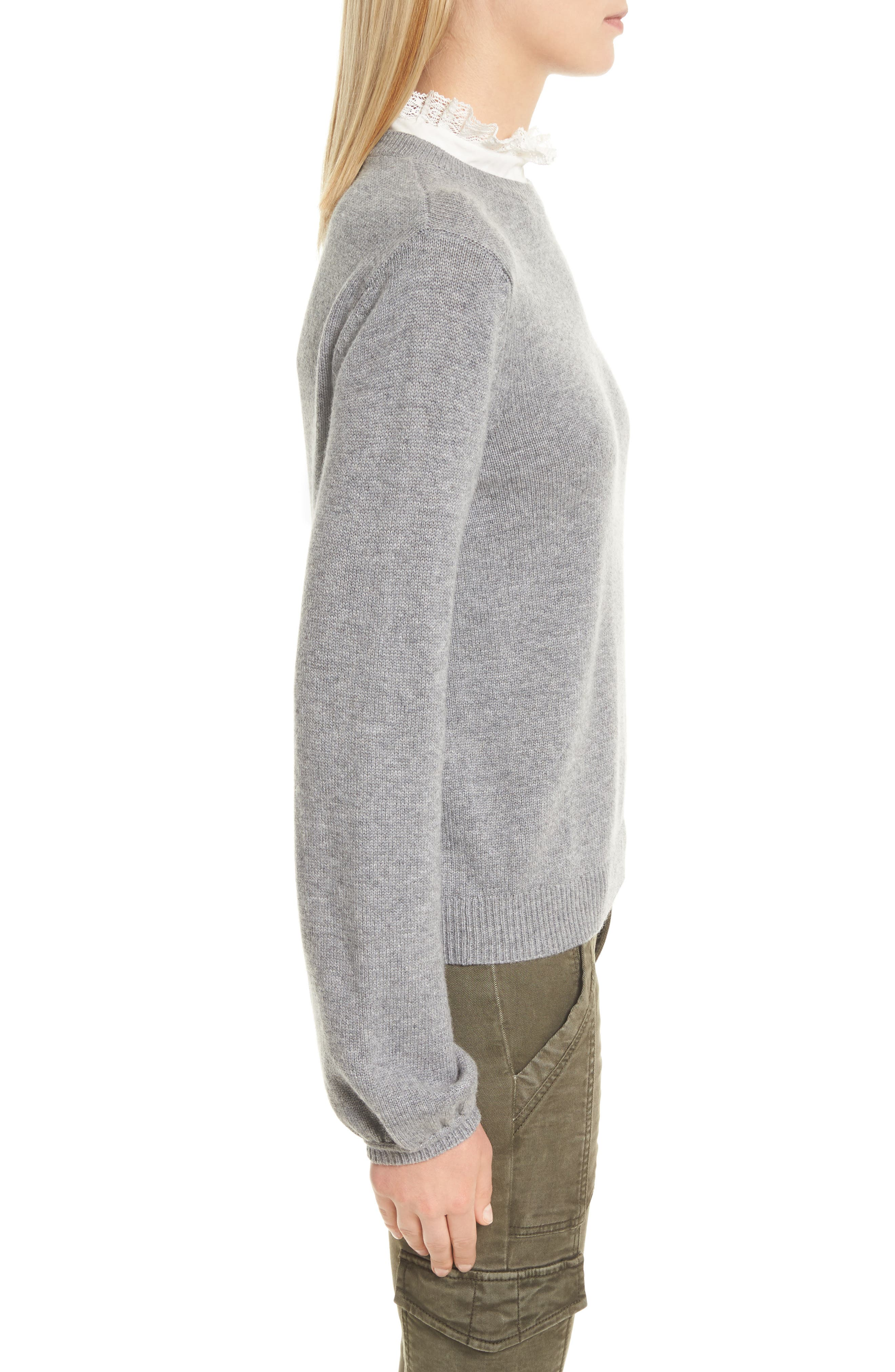 Affie Wool & Cashmere Sweater,                             Alternate thumbnail 6, color,