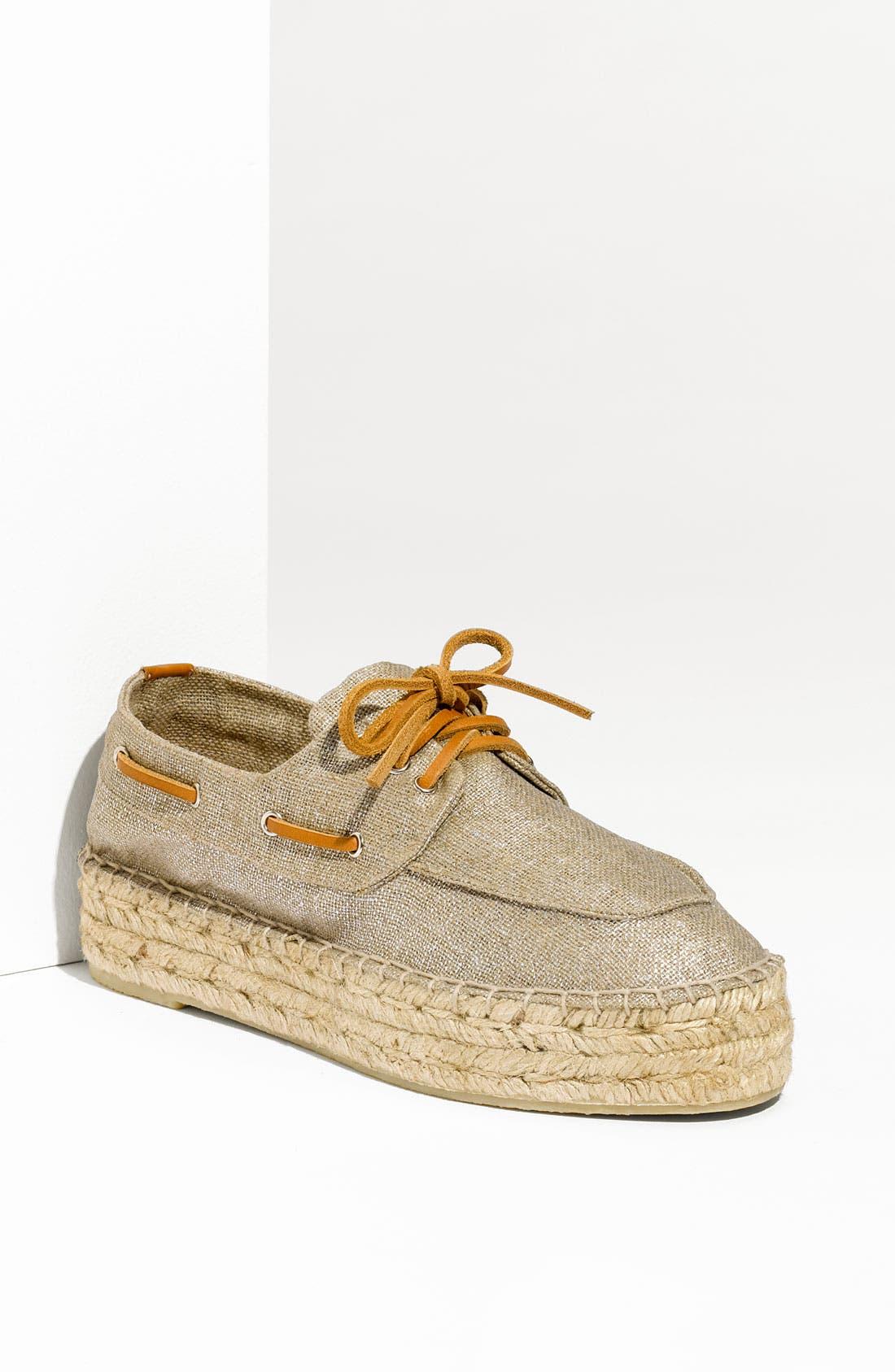 TORY BURCH Boat Shoe Espadrille, Main, color, 040