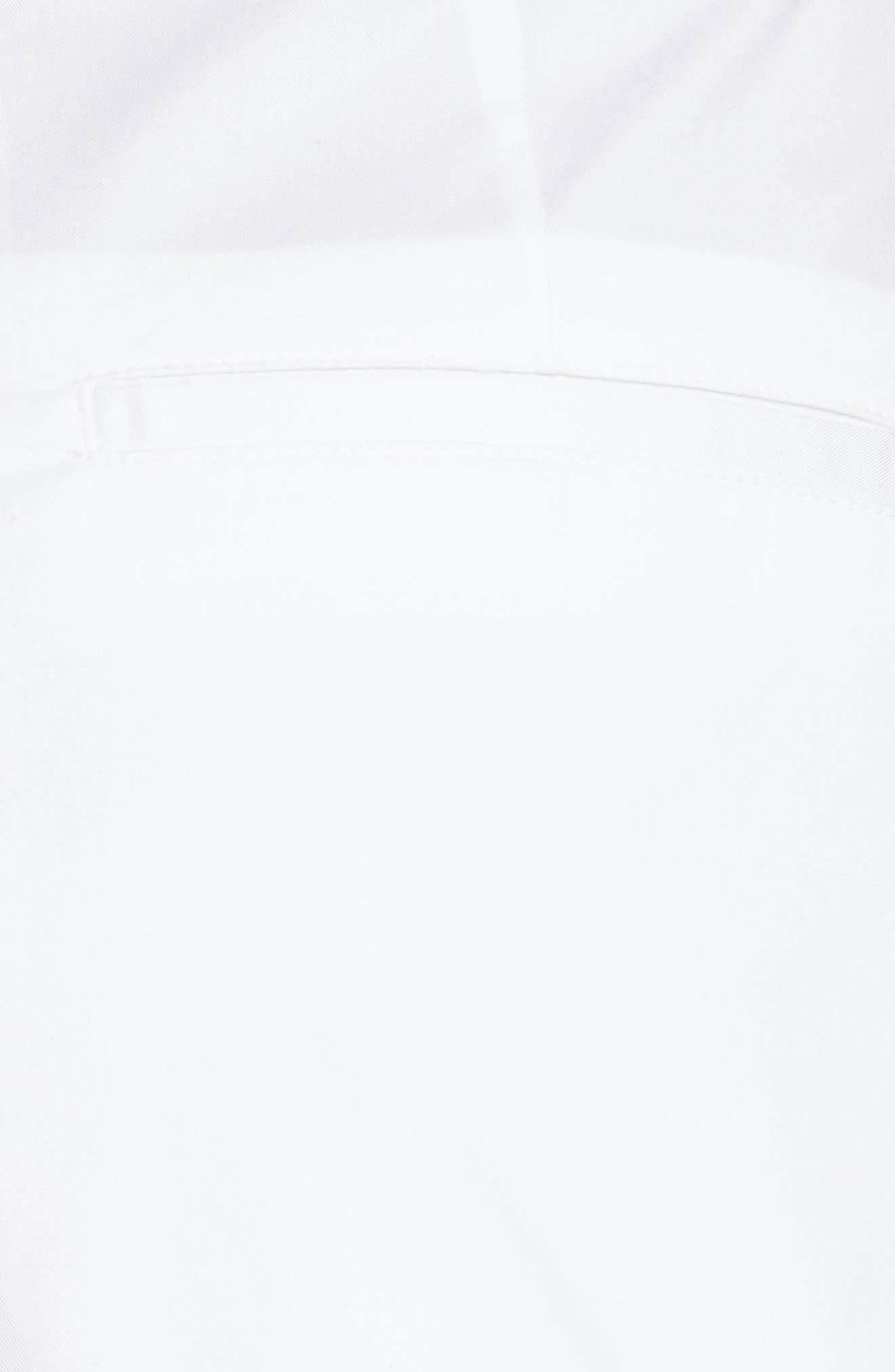 Olbia Cotton Shorts,                             Alternate thumbnail 5, color,                             WHITE