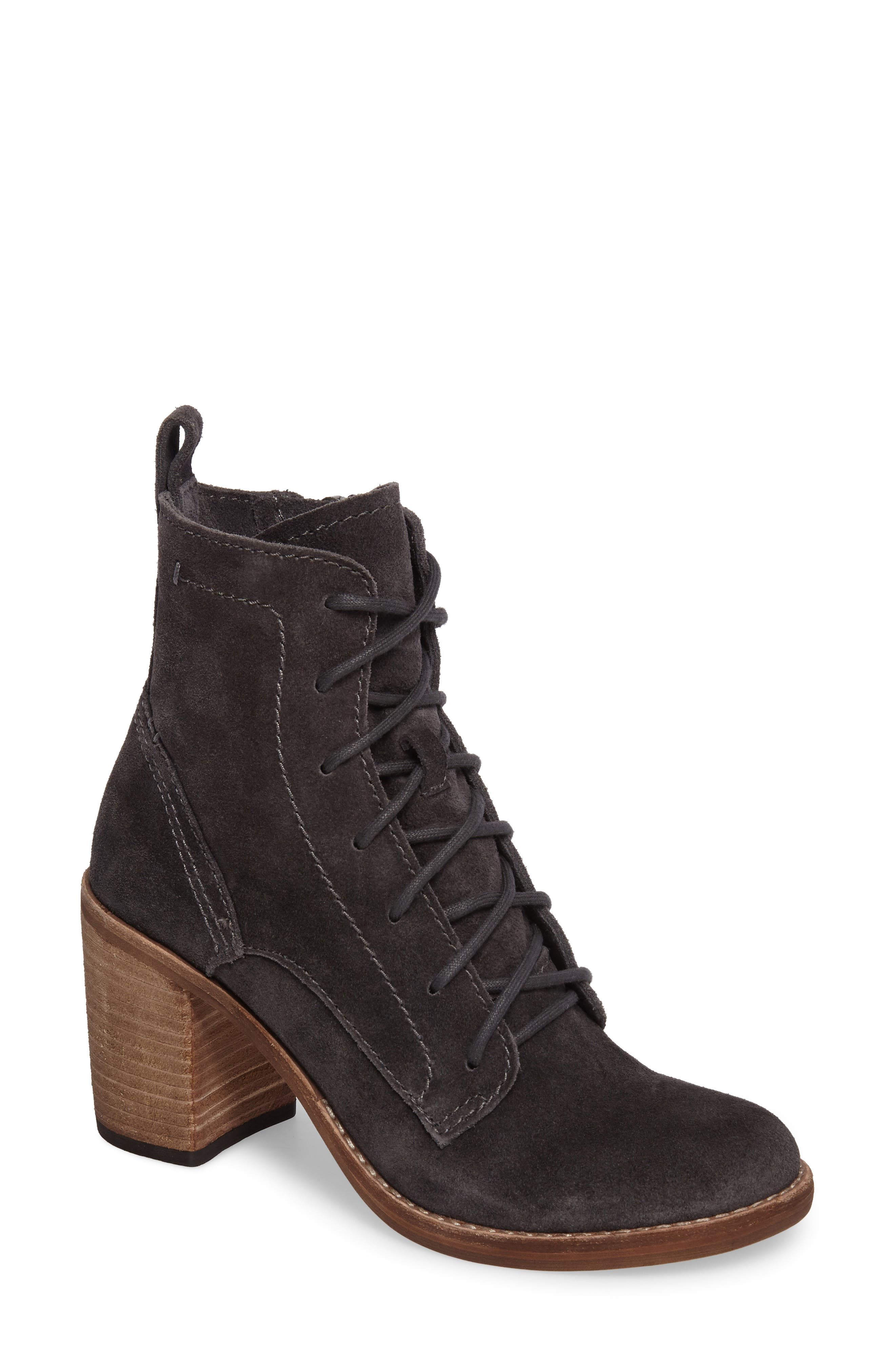 Rowly Lace-Up Bootie,                             Main thumbnail 1, color,