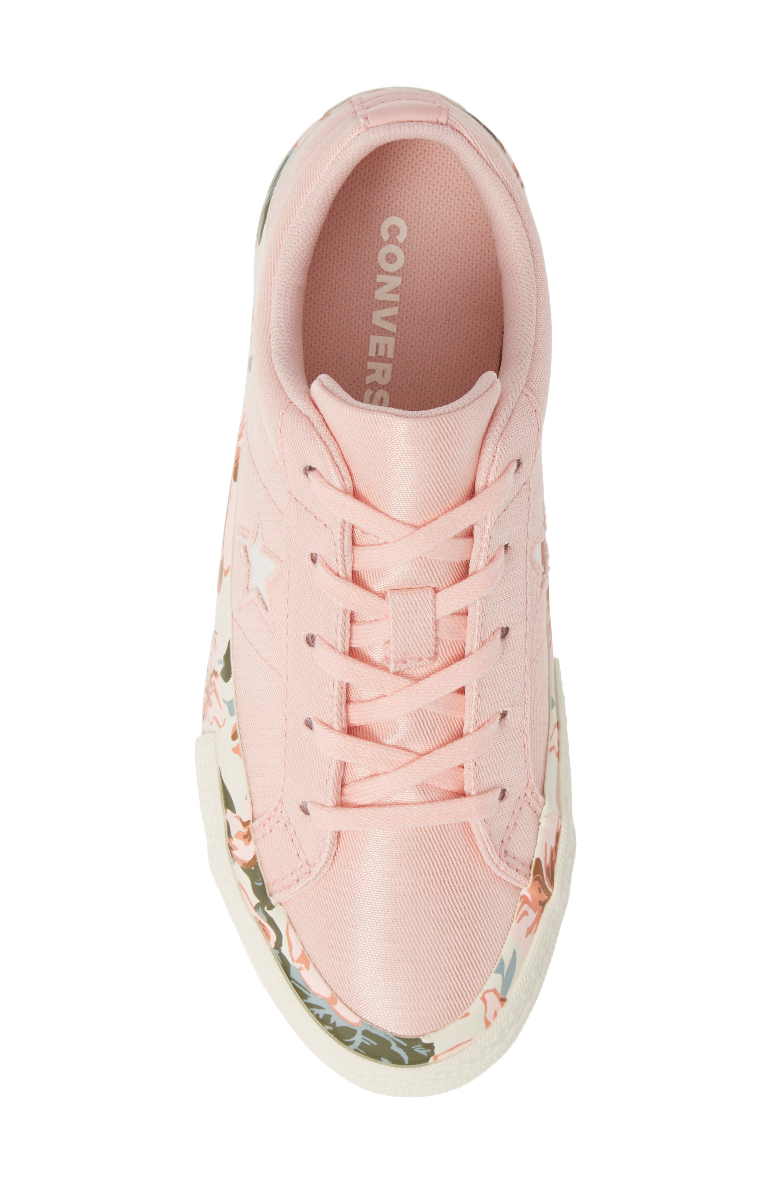 One Star Floral Sneaker,                             Alternate thumbnail 5, color,                             690
