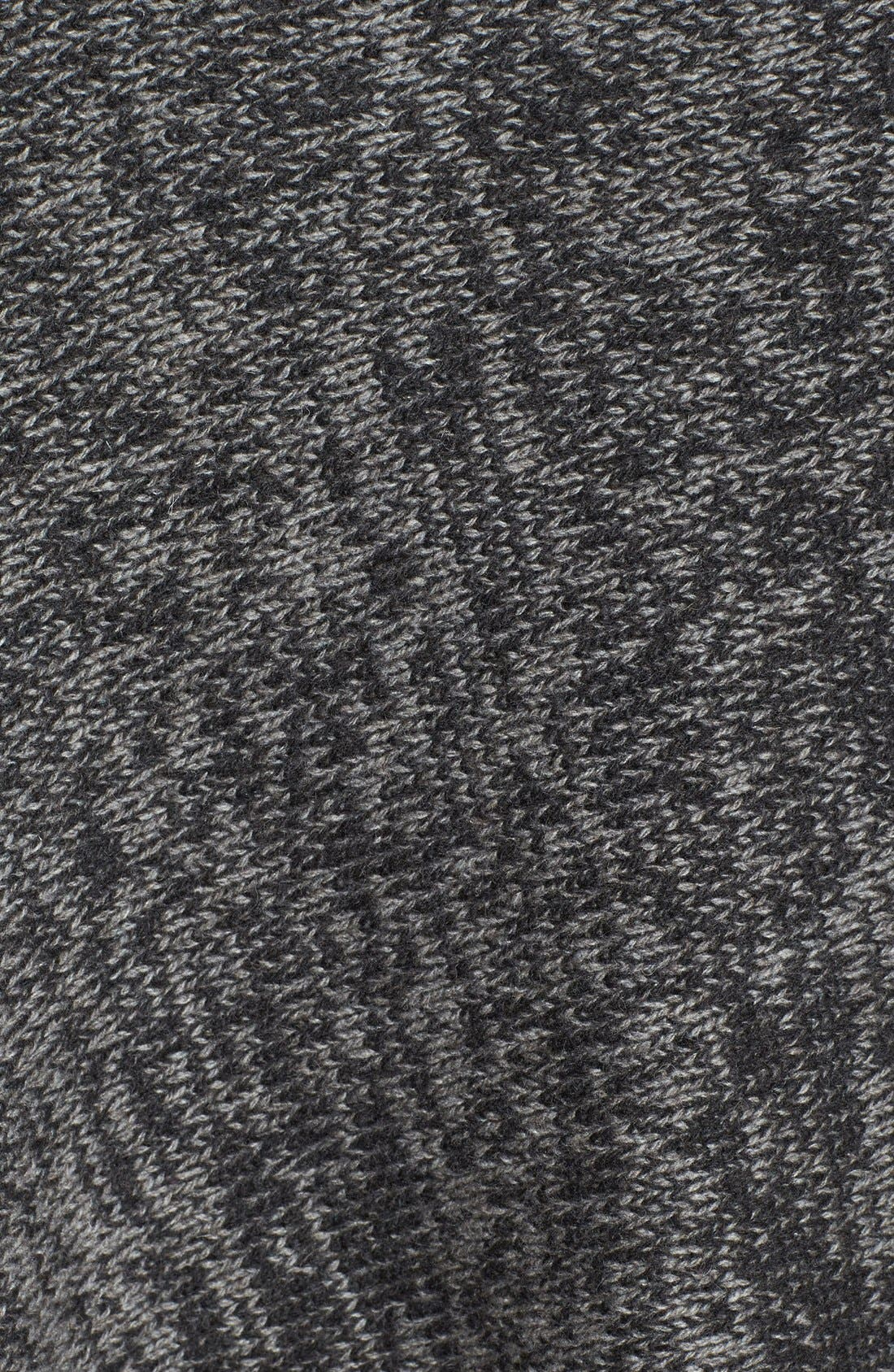 Asymmetrical Yak & Merino Twist Poncho,                             Alternate thumbnail 3, color,