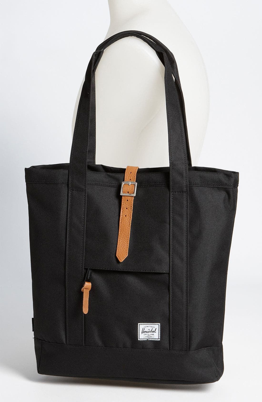 HERSCHEL SUPPLY CO.,                             'Market' Tote,                             Alternate thumbnail 4, color,                             001
