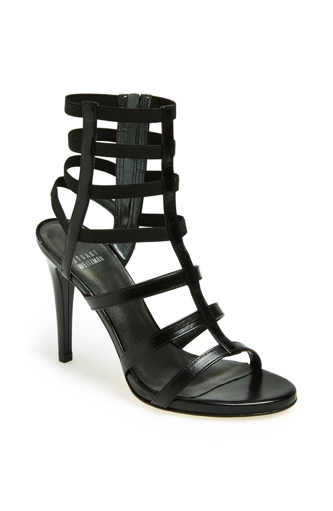 'Cleo' Sandal,                         Main,                         color, 001