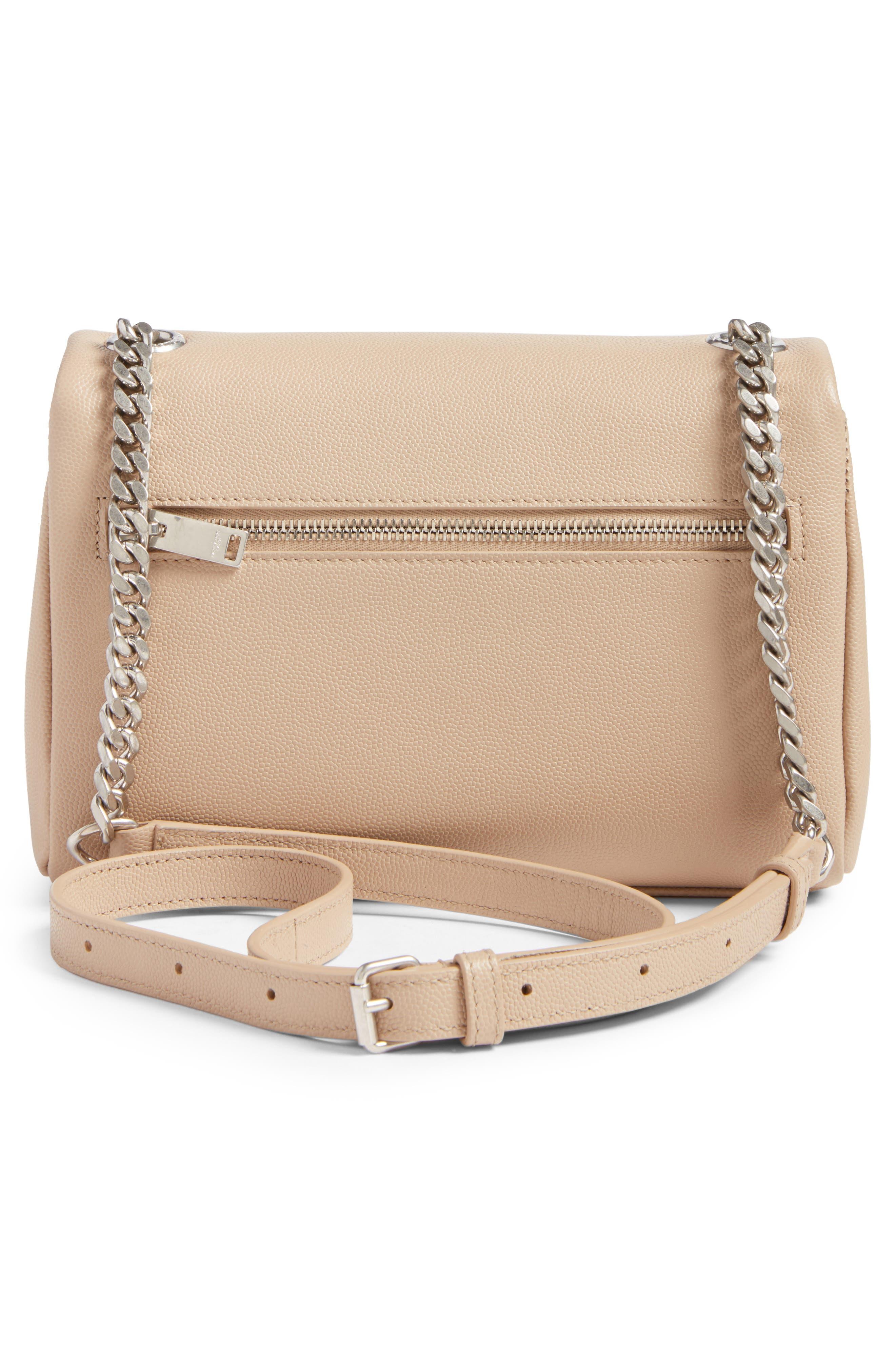 West Hollywood Calfskin Leather Messenger Bag,                             Alternate thumbnail 11, color,