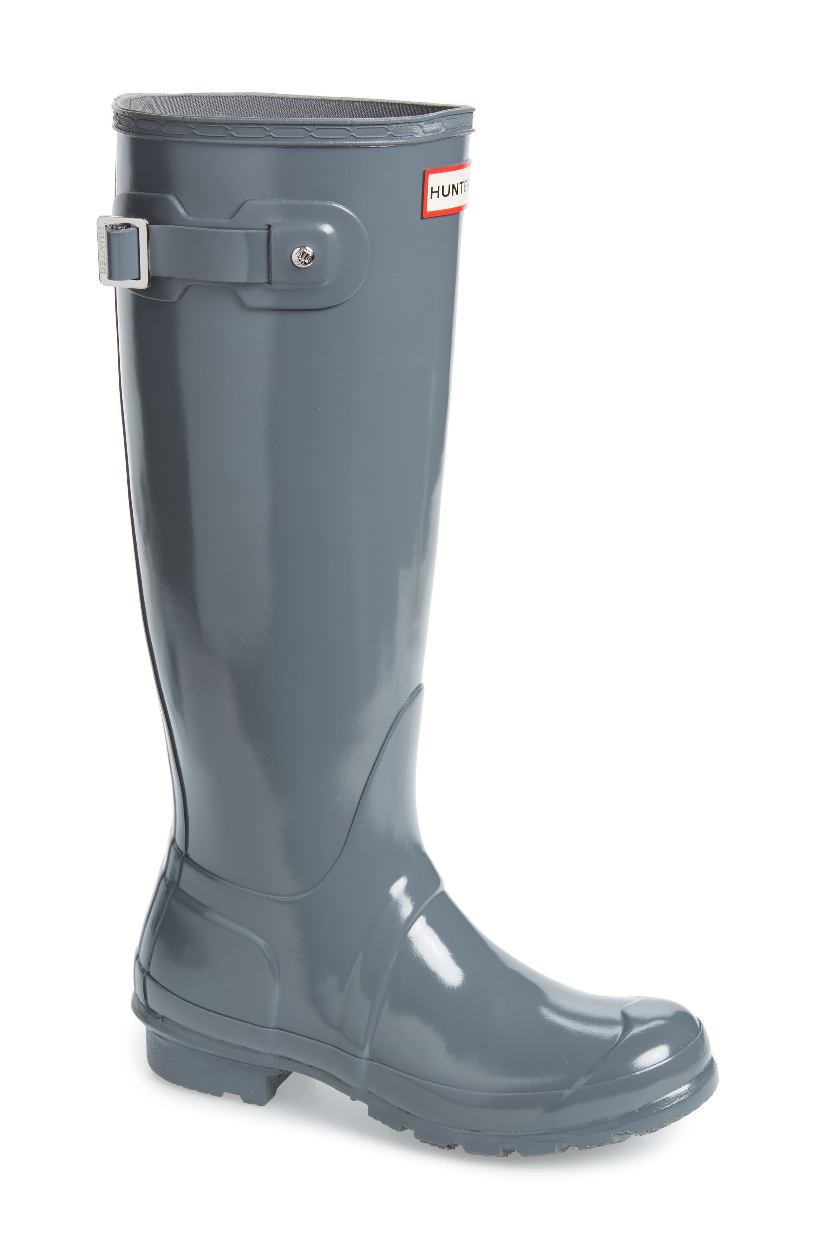 Original High Gloss Waterproof Boot,                         Main,                         color, FEATHER