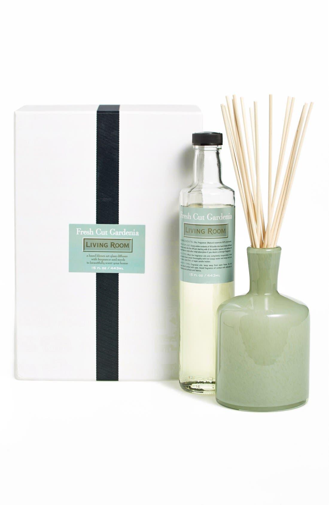 'Fresh Cut Gardenia - Living Room' Fragrance Diffuser,                             Alternate thumbnail 2, color,                             NO COLOR