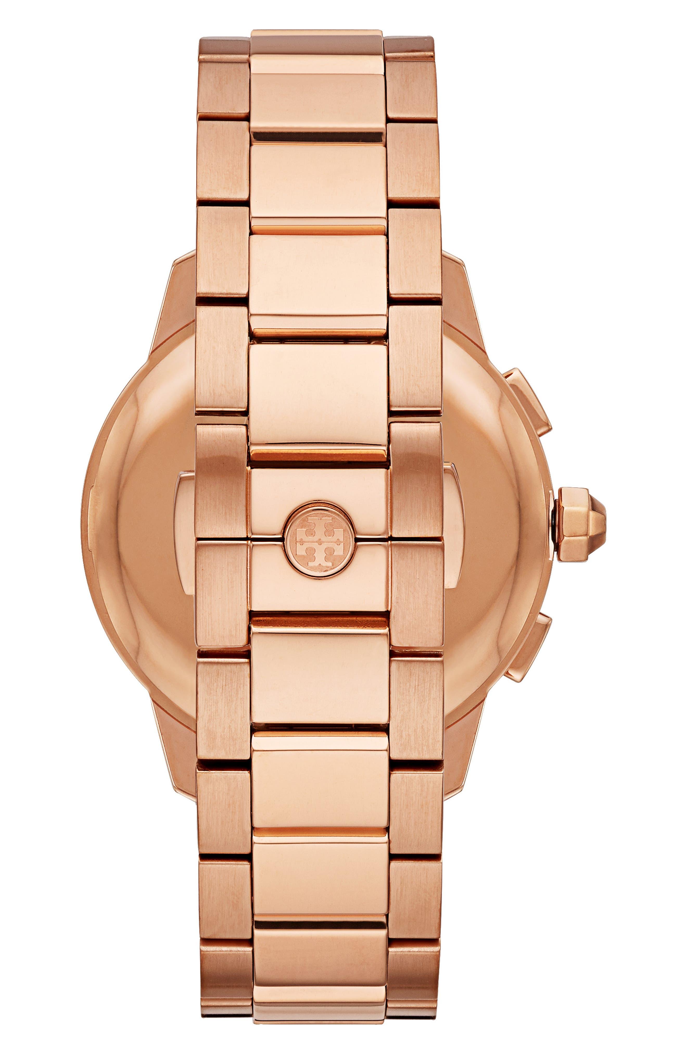 Collins Chronograph Bracelet Watch, 42mm,                             Alternate thumbnail 2, color,                             710