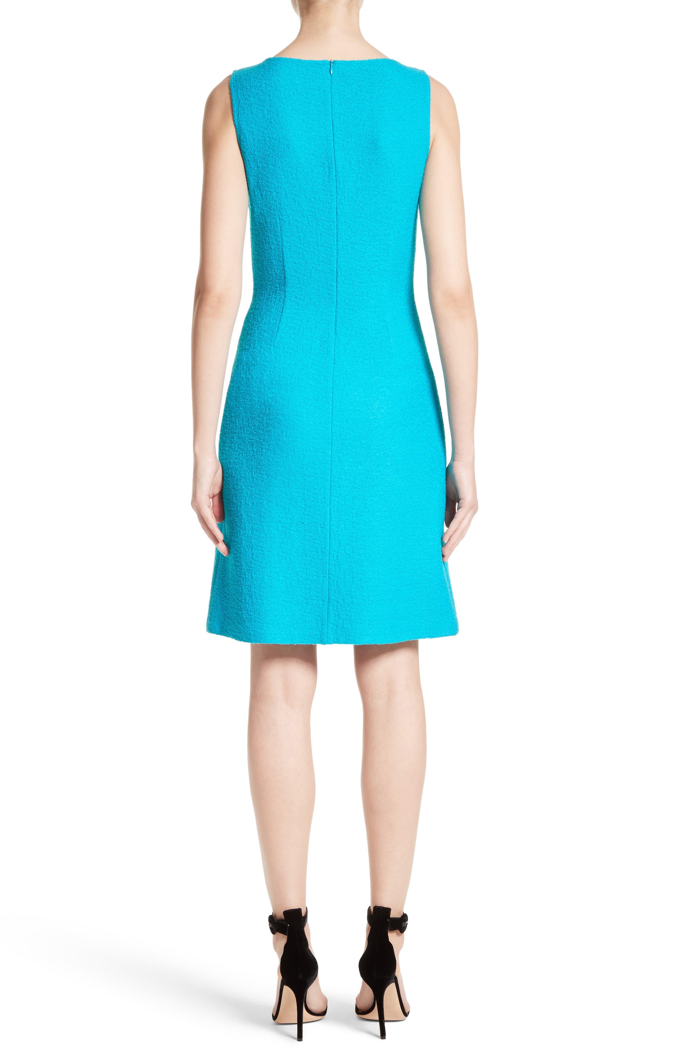 Clair Knit A-Line Dress,                             Alternate thumbnail 2, color,                             440