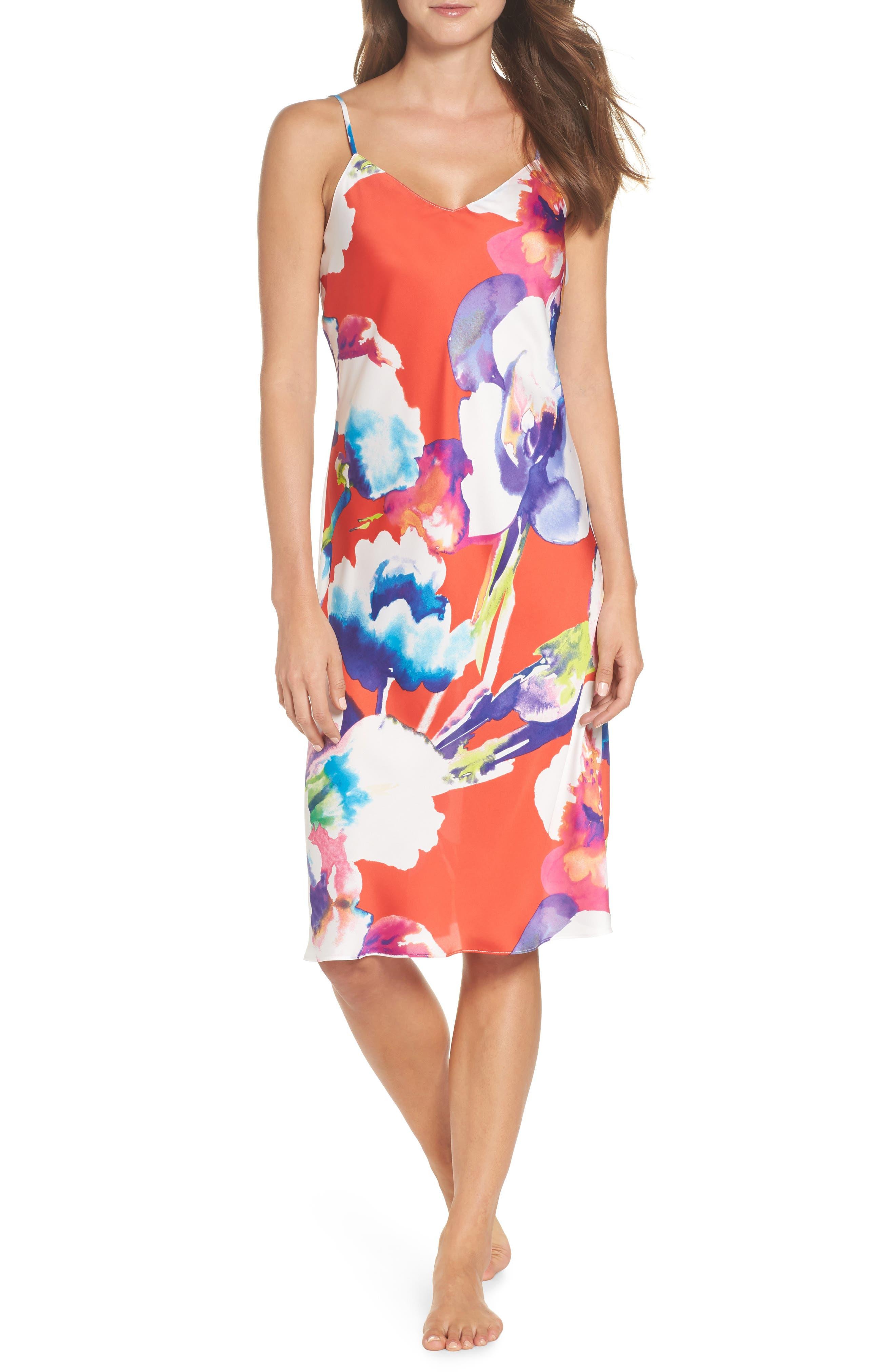 NATORI Tahiti Nightgown, Main, color, 623