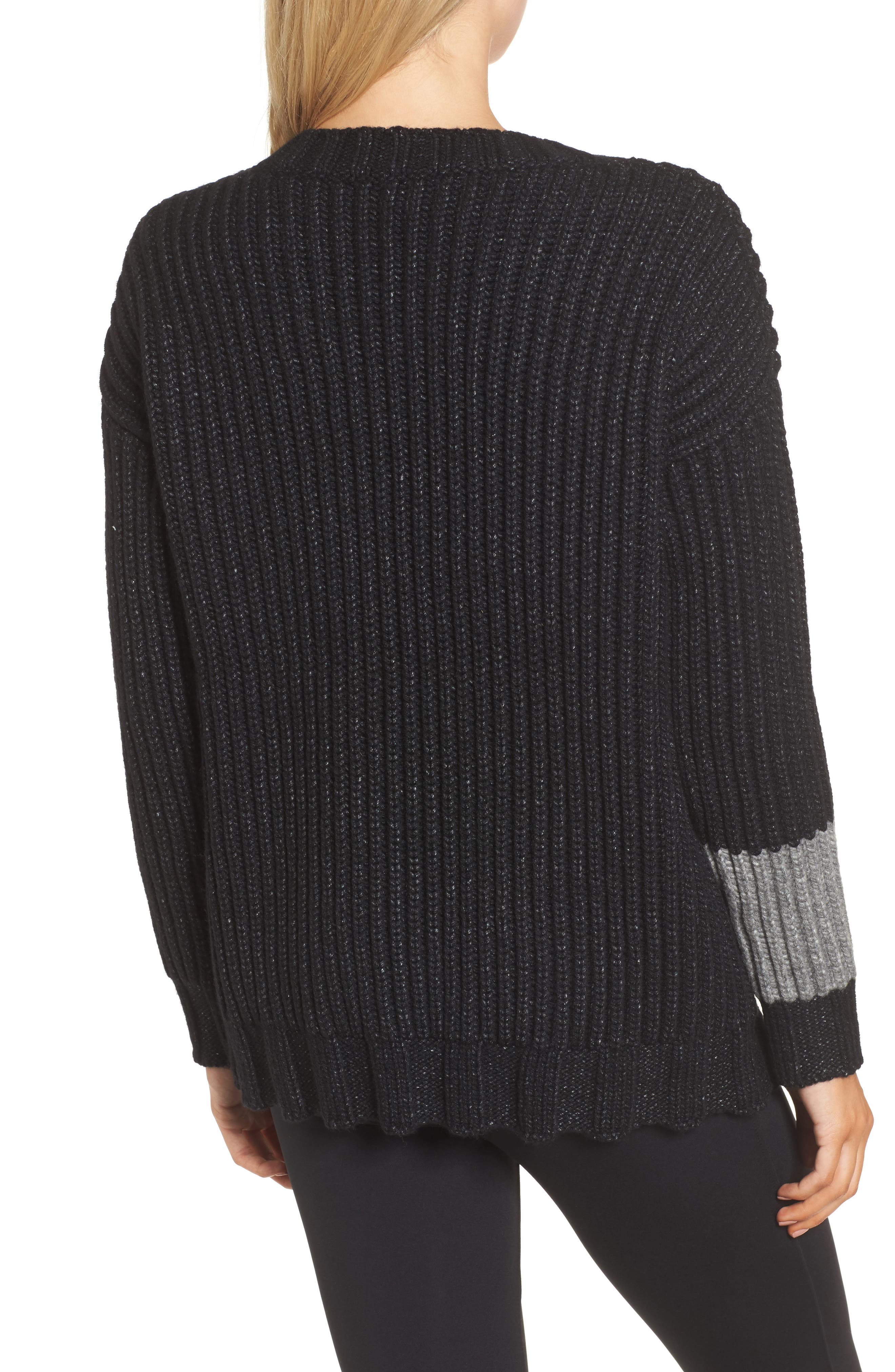 Chunky Armband Sweater,                             Alternate thumbnail 2, color,                             008