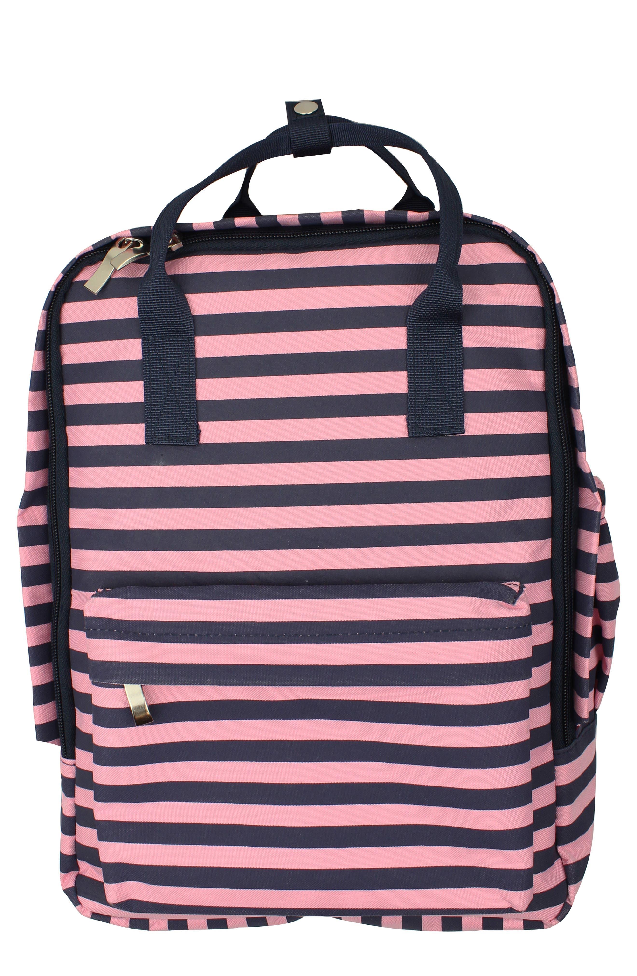 Stripe Backpack,                             Main thumbnail 1, color,                             684