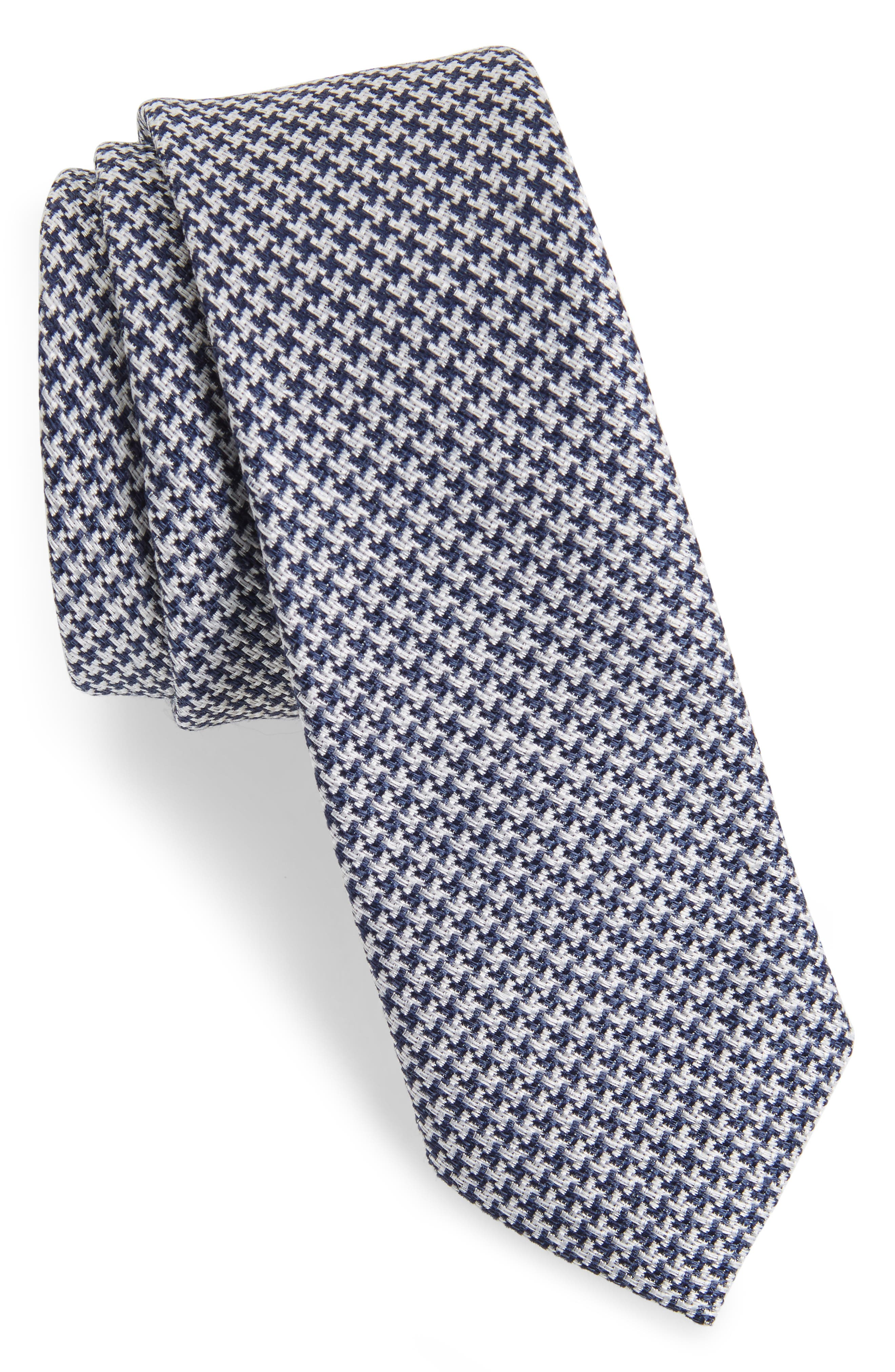 Wyden Linen & Silk Tie,                             Main thumbnail 1, color,                             410