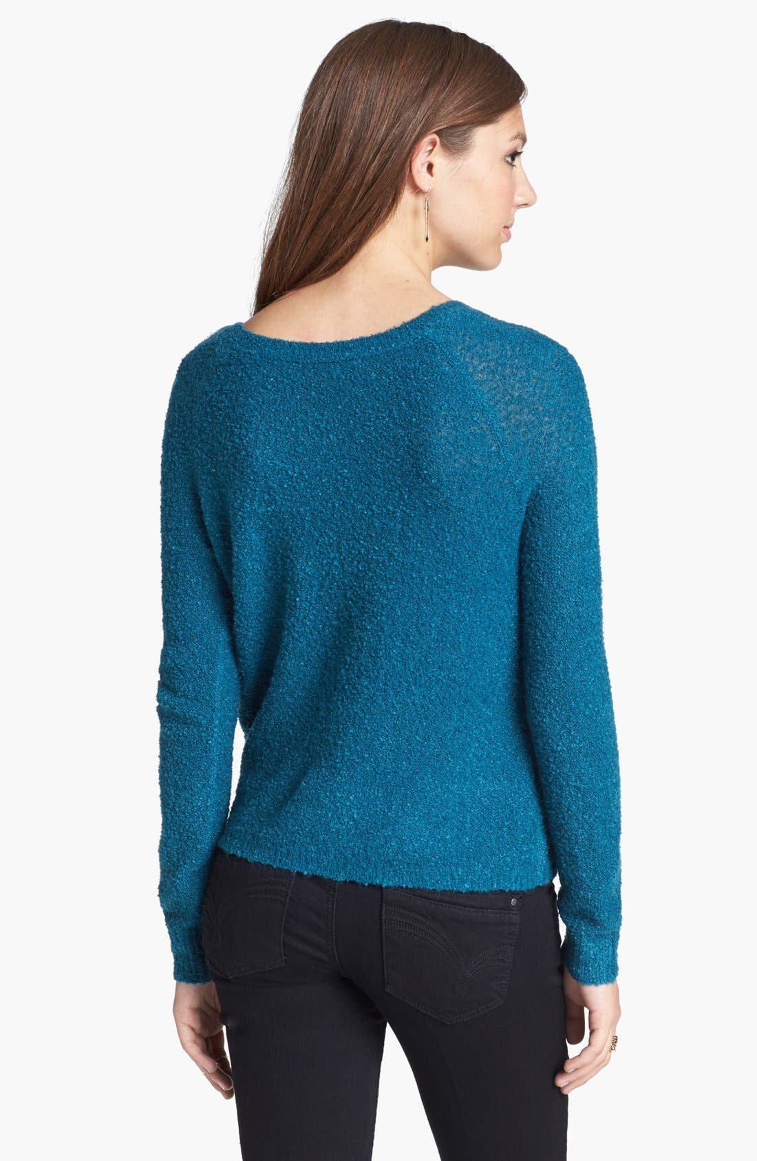 'Grunge' Textured Sweater,                             Alternate thumbnail 15, color,