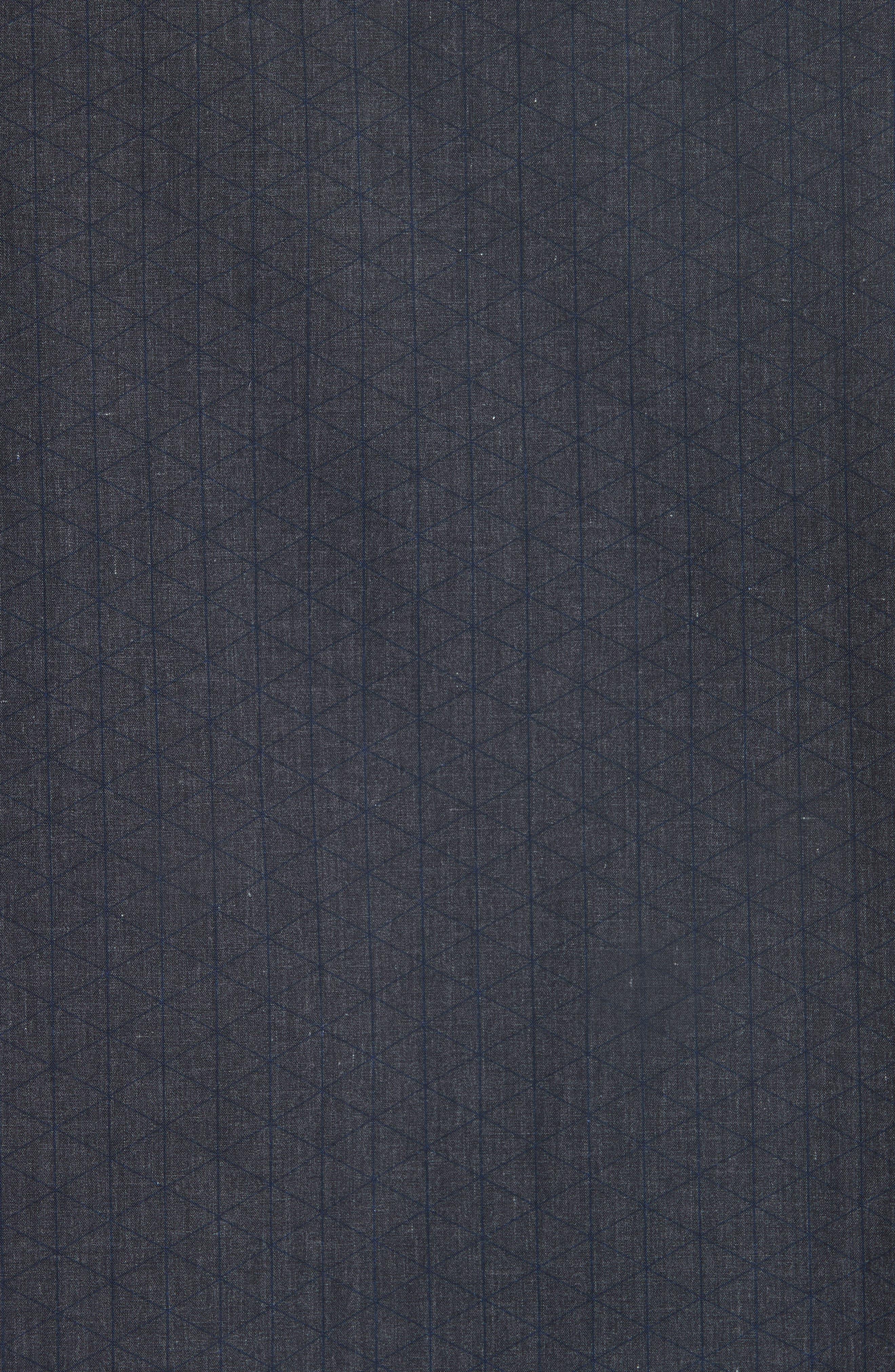 Regular Fit Geometric Sport Shirt,                             Alternate thumbnail 5, color,                             GREY
