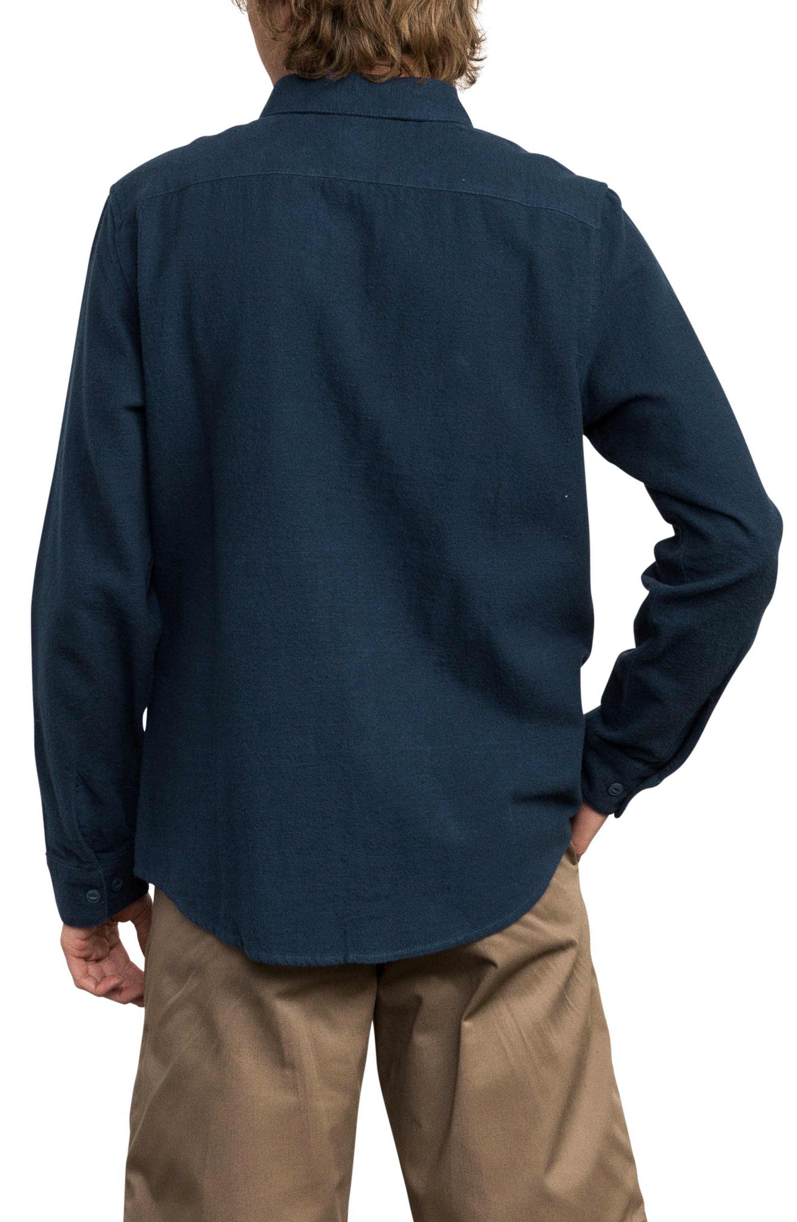 Public Works Flannel Shirt,                             Alternate thumbnail 2, color,                             487