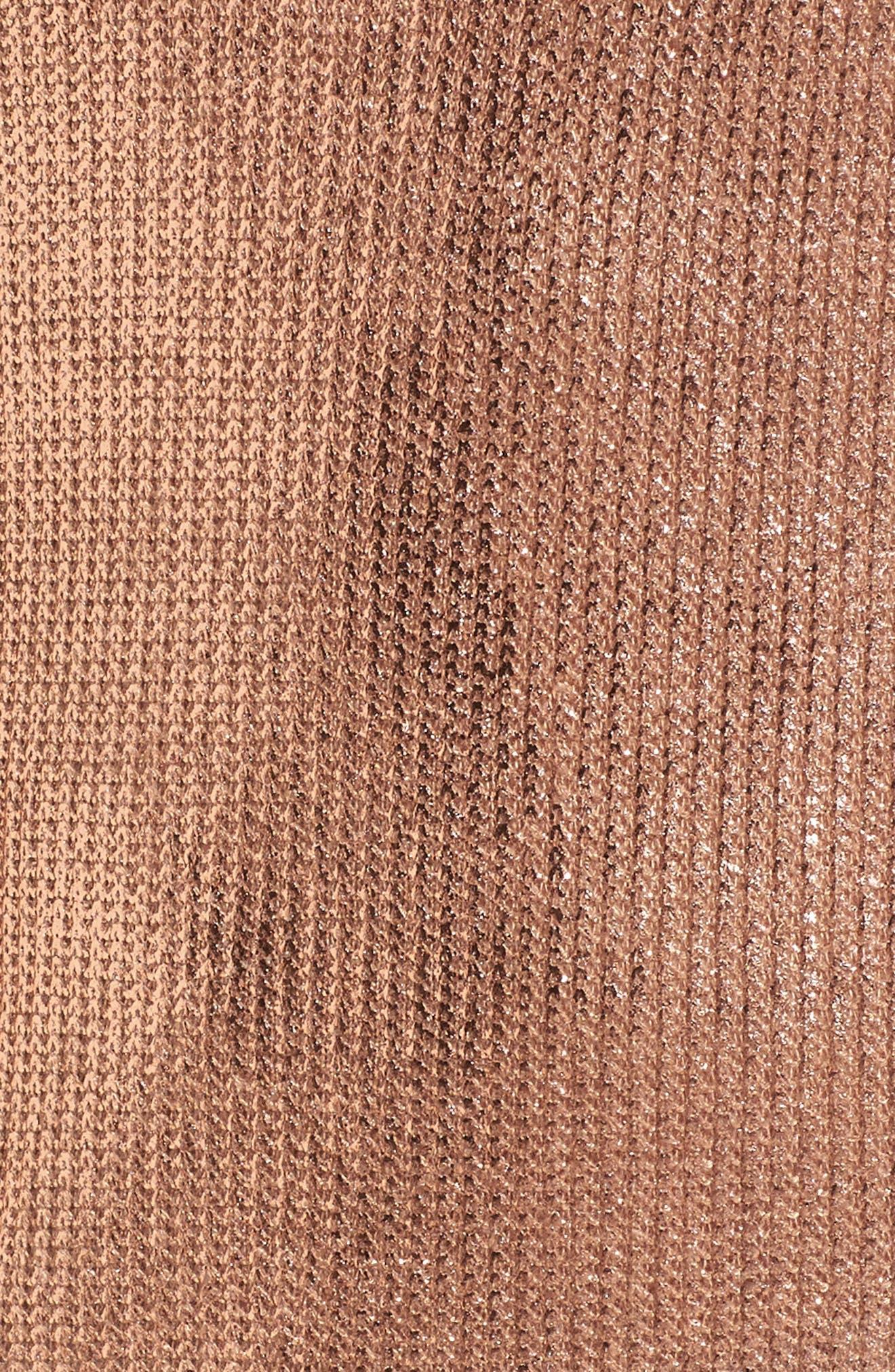 Metallic Coated Dress,                             Alternate thumbnail 10, color,
