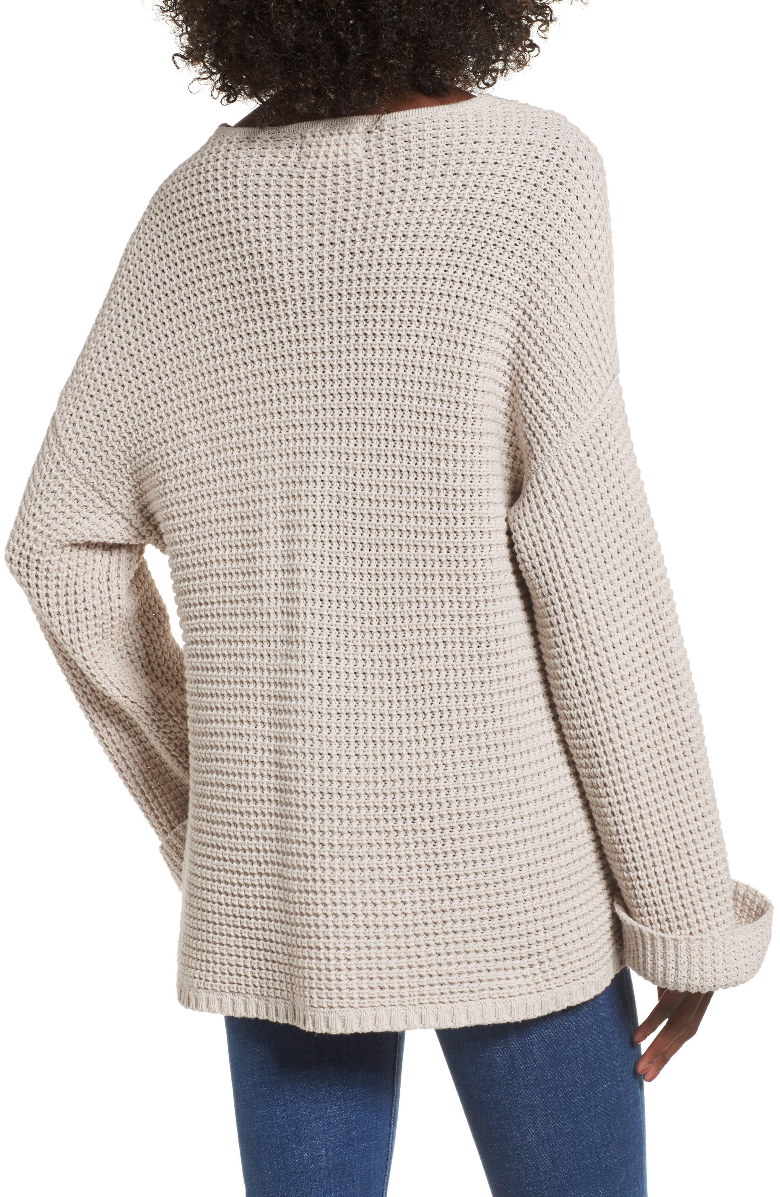 Adelia Bell Sleeve Sweater,                             Alternate thumbnail 2, color,                             900