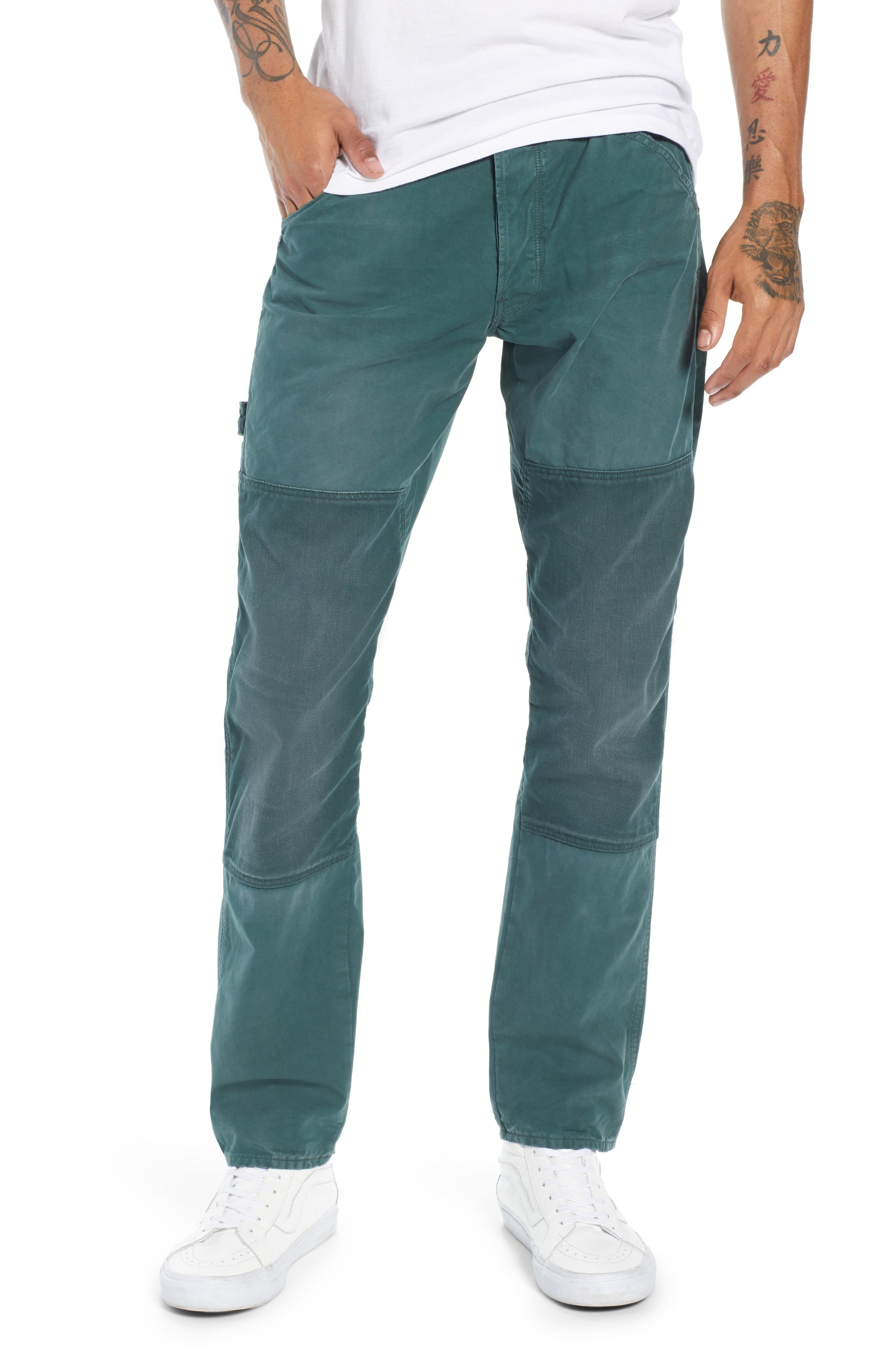 G-STAR RAW Uotf Faroes Slim Tapered Pants in Balsam