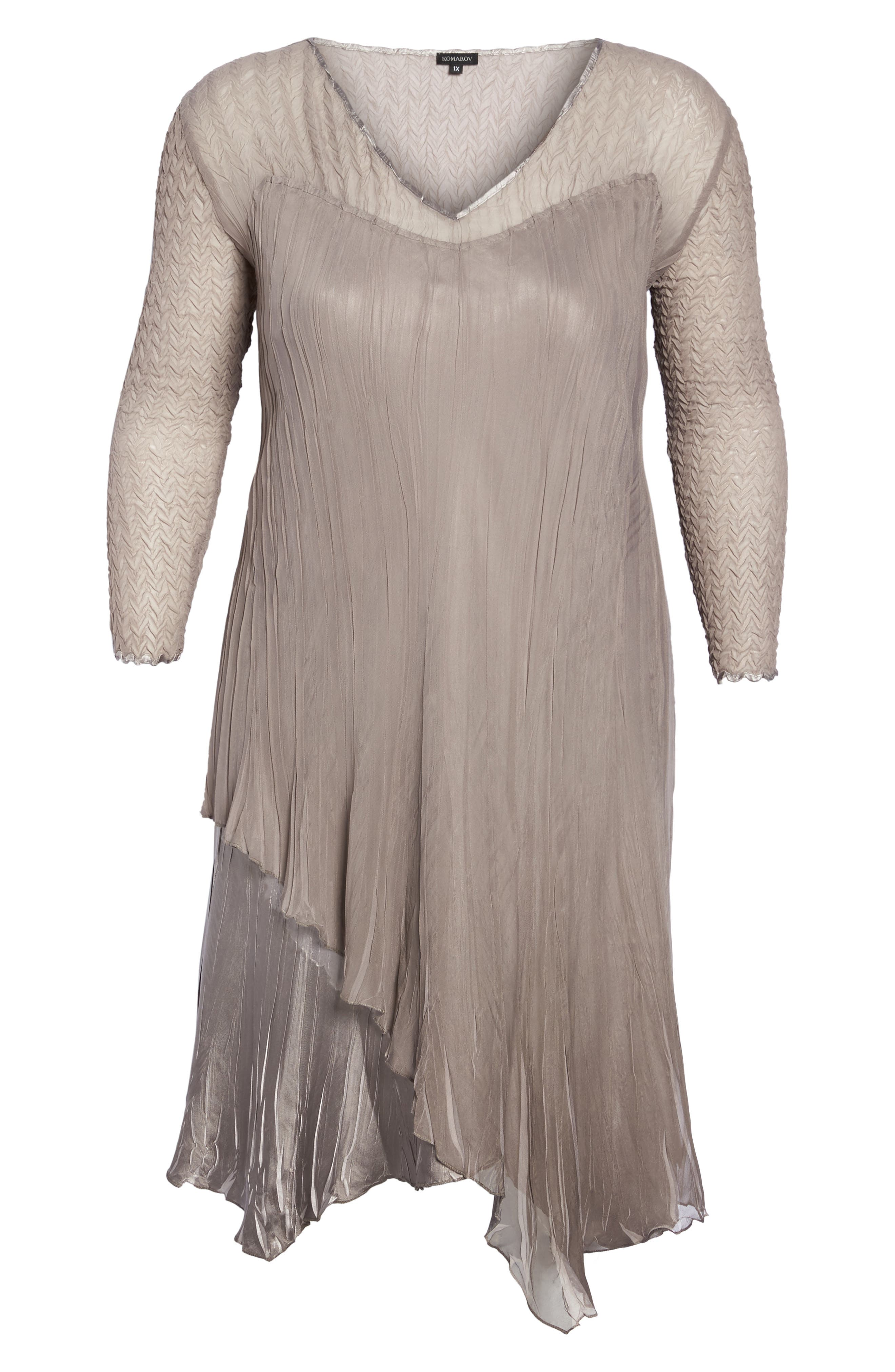 Tiered Dress,                             Alternate thumbnail 6, color,                             251